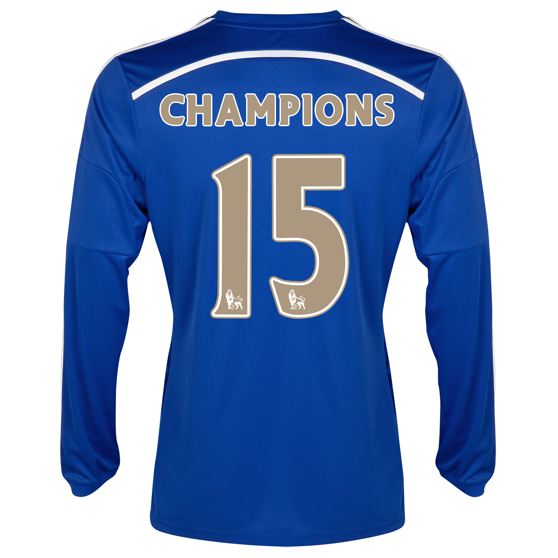 Chelsea Champions 2015 Home Shirt - Long Sleeve