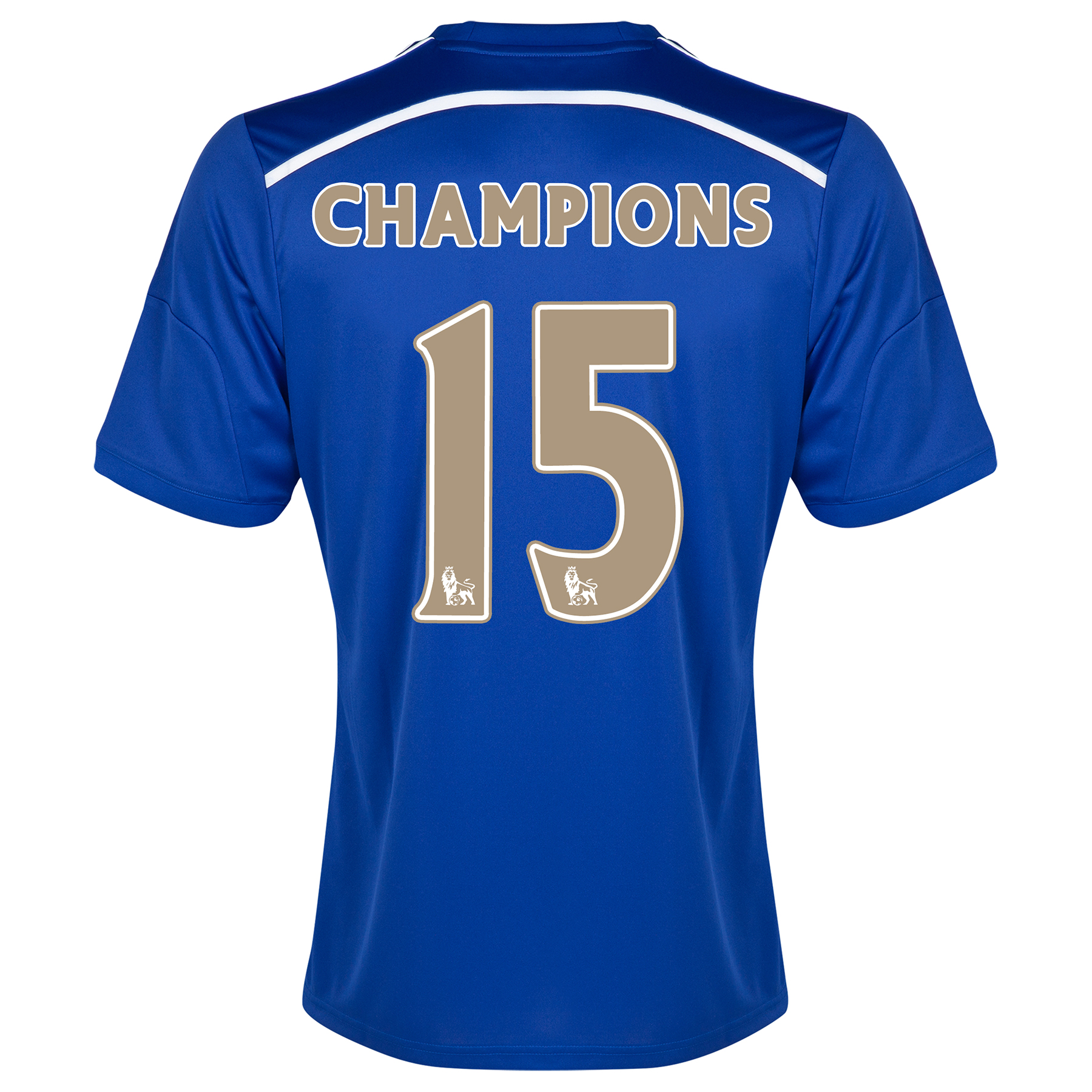 Chelsea Champions 2015 Home Shirt - Outsize