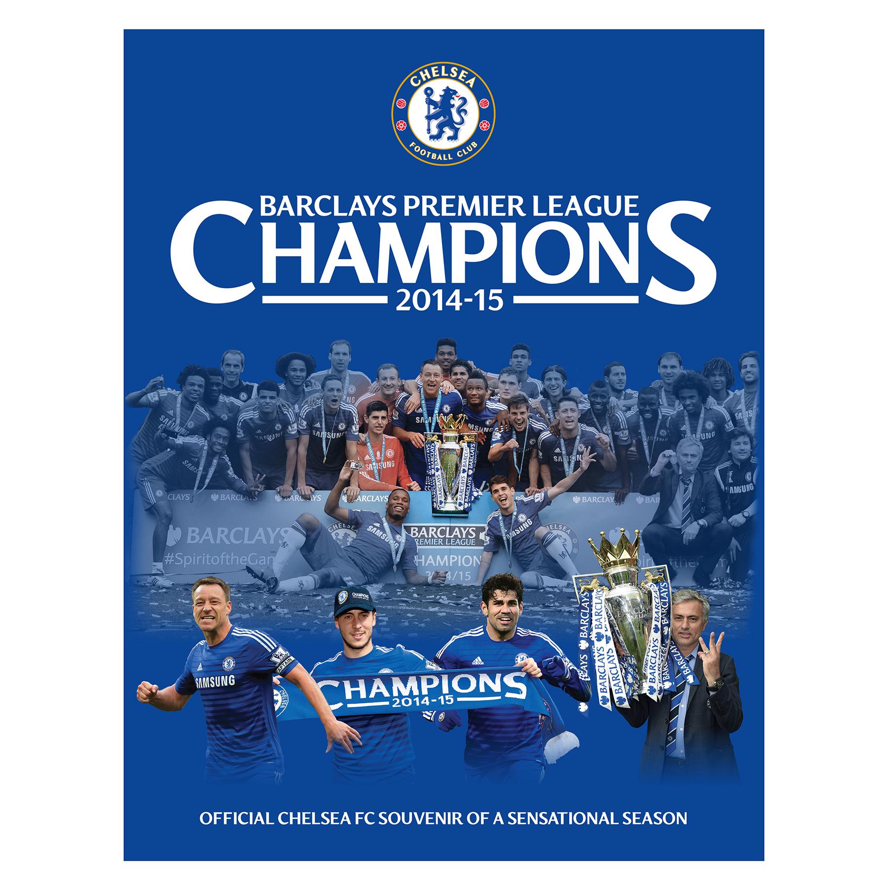 Chelsea 2014/15 Champions Book - Hard Back