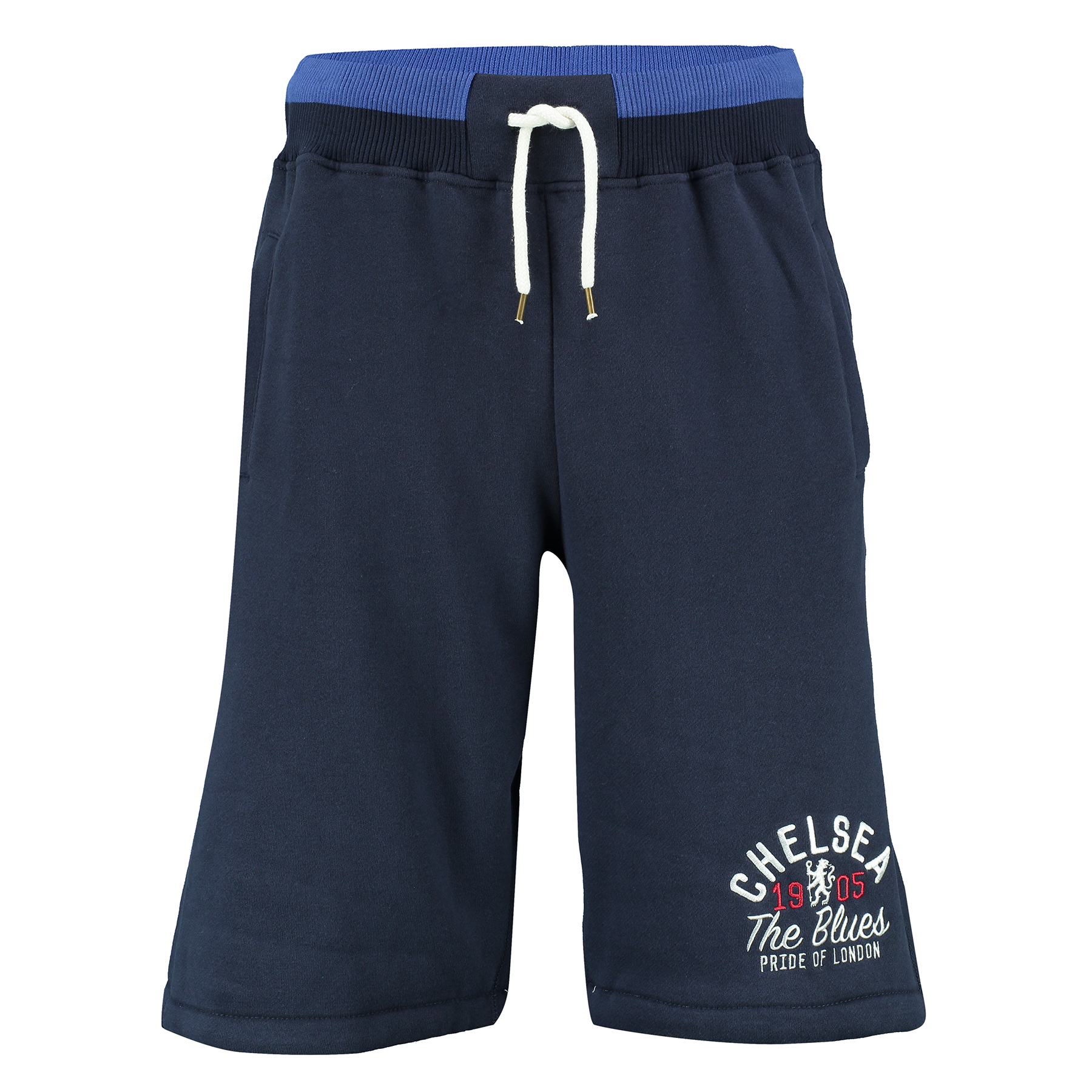 Chelsea Heritage Fleece Jog Shorts - Navy - Mens