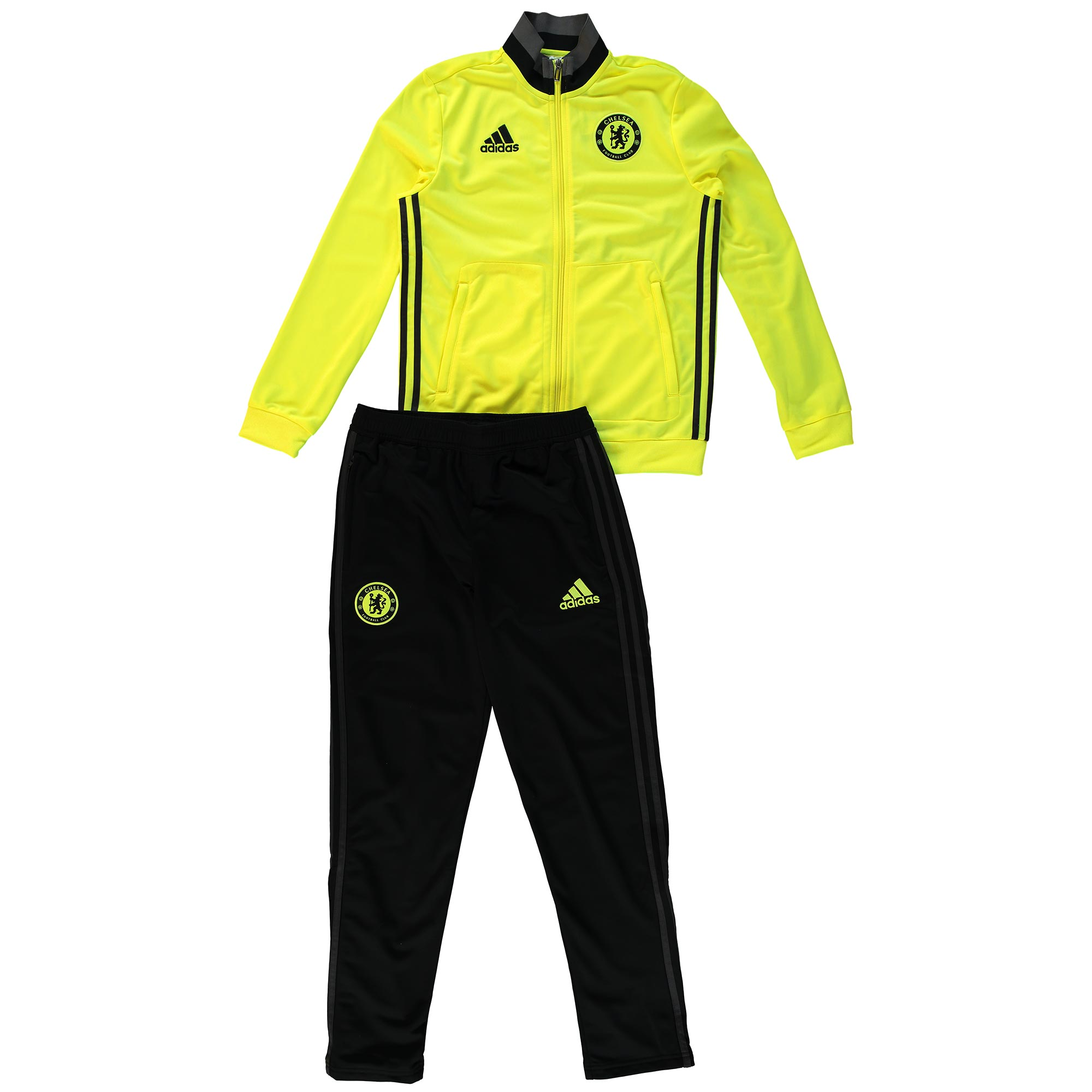 Chelsea Training Presentation Suit - Yellow - Kids