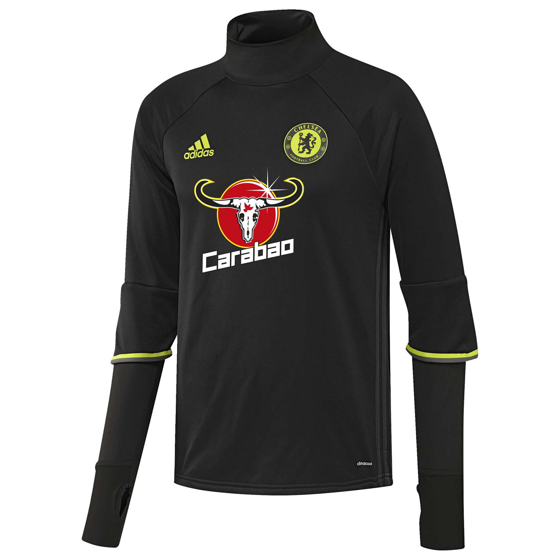 Chelsea Training Top - Black