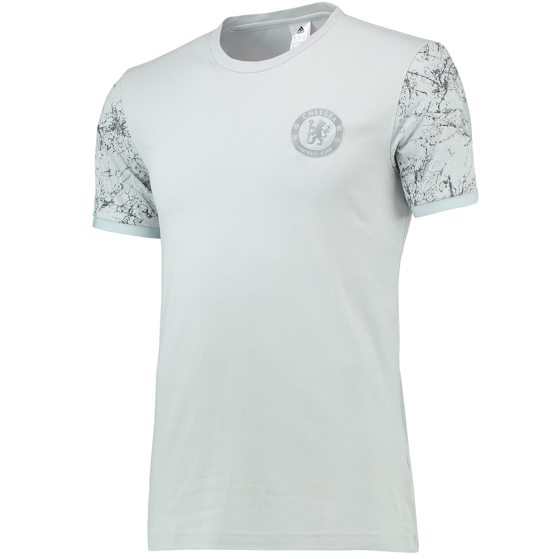 Chelsea Graphic Sleeve T-Shirt - Grey