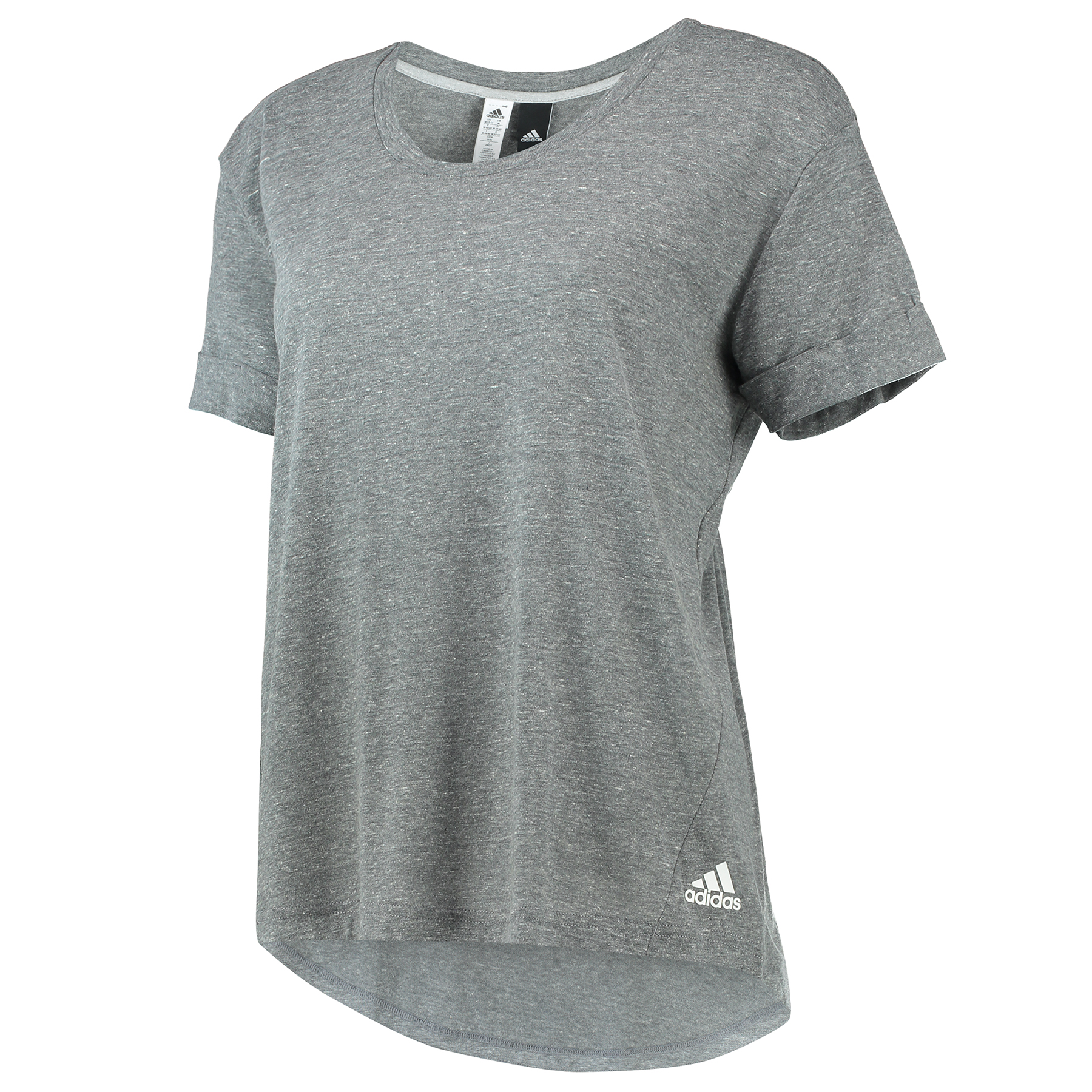 Chelsea Three Stripe T-Shirt - Womens - Dark Grey
