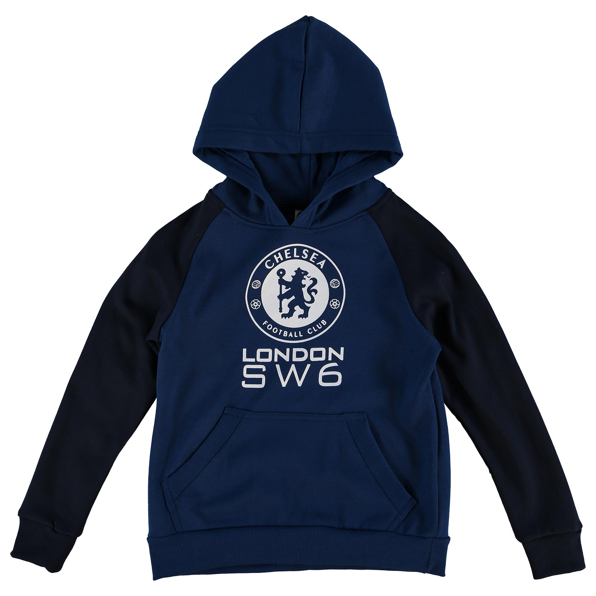 Chelsea Essential SW6 Hoodie - Estate Blue - Older Boys