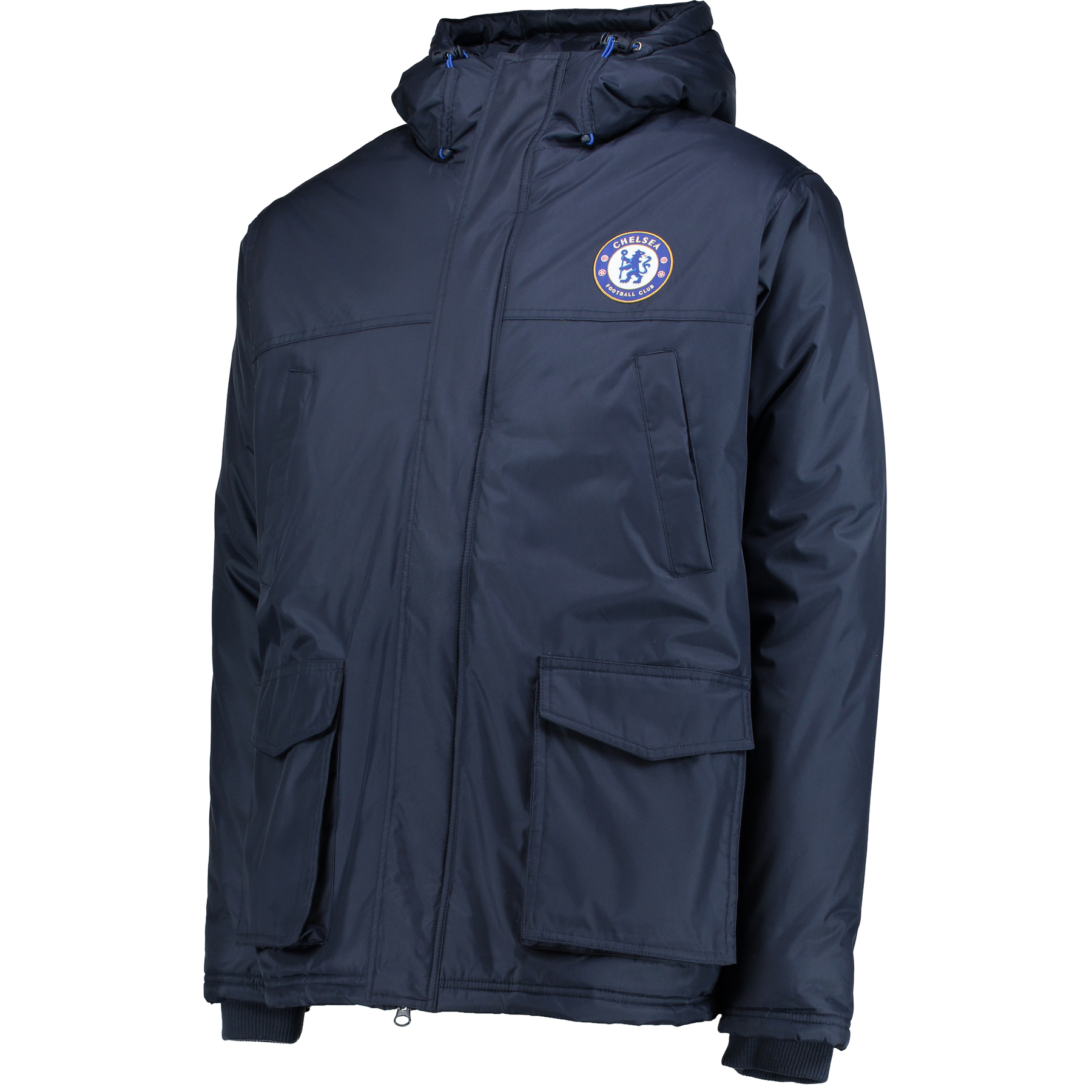 Image of Chelsea Essential Padded Coat - Navy - Mens, Navy