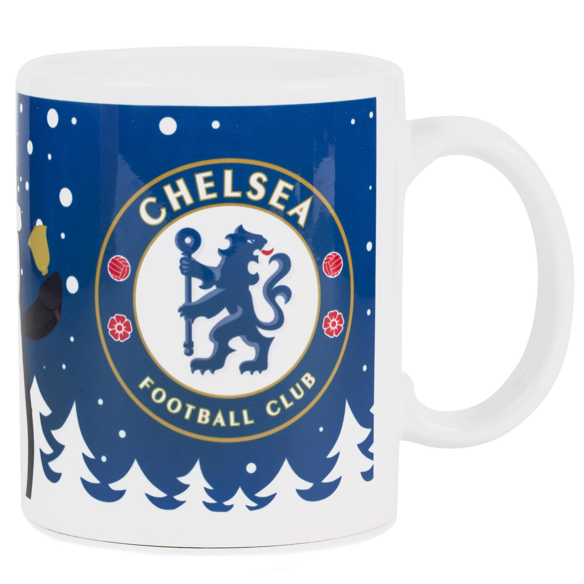 Chelsea Christmas Penguin Mug