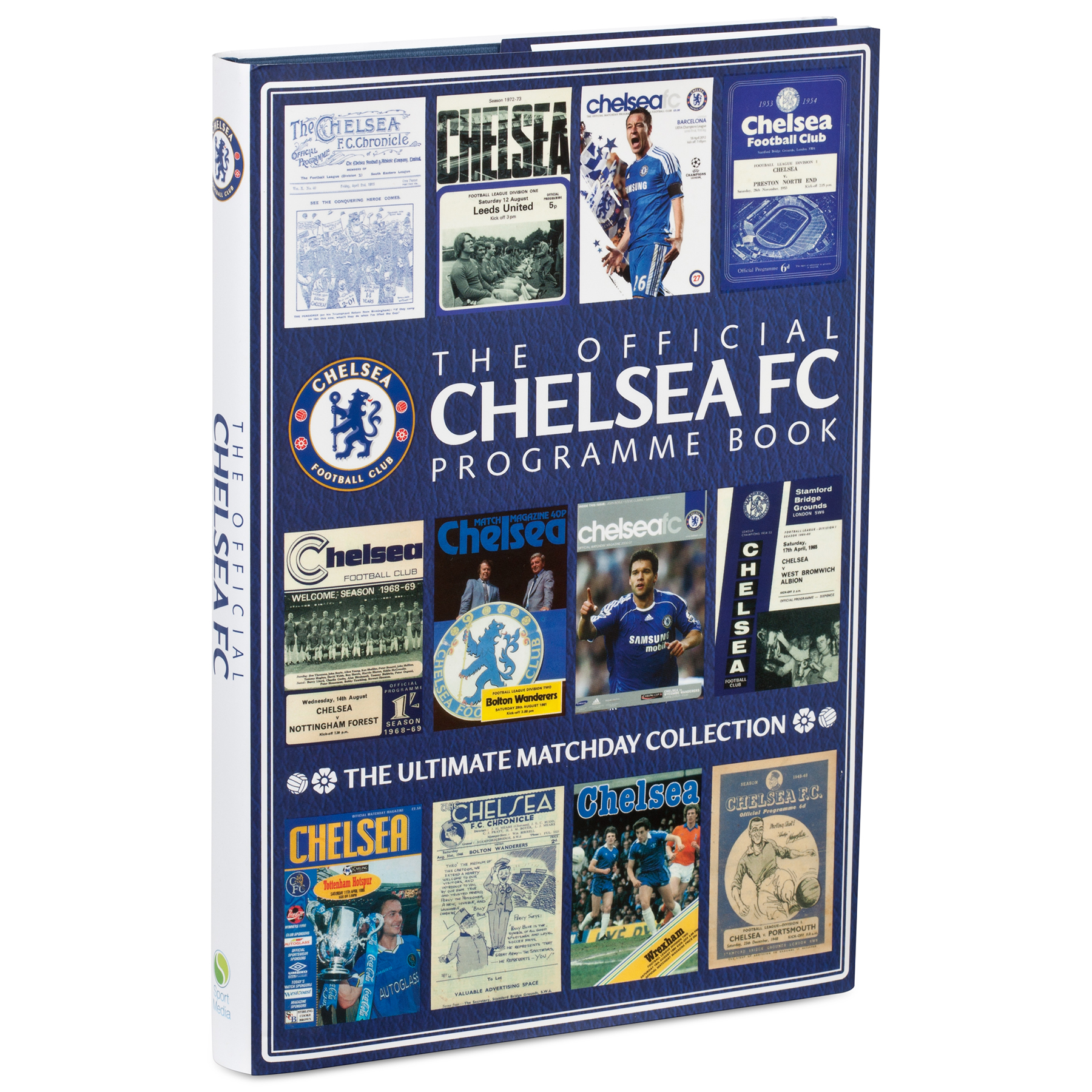 Ever walked through the turnstiles and bought a programme? Flicked through the pages as you've waited for the action to begin? Ticked off the names on the team sheet, felt inspired by the captain's notes, then kept it safe as a treasured memento of a special occasion? Well, then the Official Chelsea FC Programme Book is the ultimate souvenir for every fan who has ever loved going to Stamford Bridge. Chelsea have a proud tradition and ever since the early days the programme has been an essential part of the match day experience. It's the perfect reminder of those unforgettable afternoons and nights when Blues heroes from Jimmy Greaves to Gianfranco Zola, Terry Venables to Peter Osgood, Didier Drogba and beyond turned on the style. Now, for the first time, this attractive and comprehensive official club book dusts down the famous programmes and revisits the pages that made history, including publications from the 1954/55 title-winning season and the triumphant 2011/12 Champions League campaign, not to mention the team's recent Premier League successes. Featuring everything from manager's notes and captain's columns to team sheets, funny and revealing pictures, exclusive interviews and special editions, this book is a journey through the years as the fan on the terrace will have watched it unfold. Thanks to the unrivalled Chelsea Collection, many rare pages from historic programmes are reproduced, with the story brought right up to date. The Official Chelsea Programme Book will enthral Blues fans everywhere and provides a wonderful insight into the club down the years since it was founded in 1905.