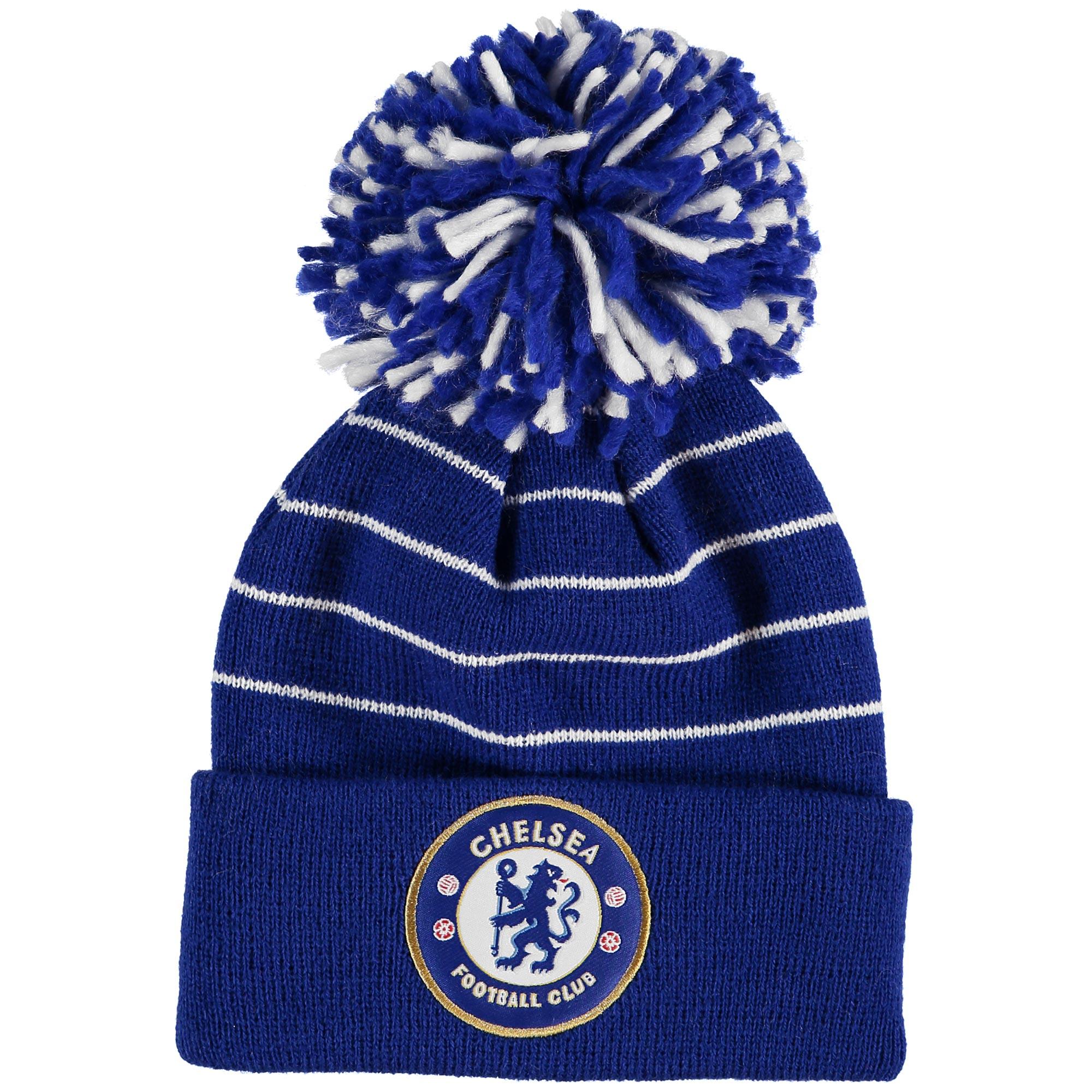 Chelsea Bobble Beanie Hat - Royal - Infants
