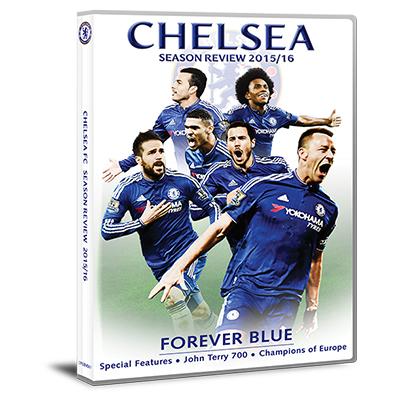 Chelsea Season Review 2015-16 DVD