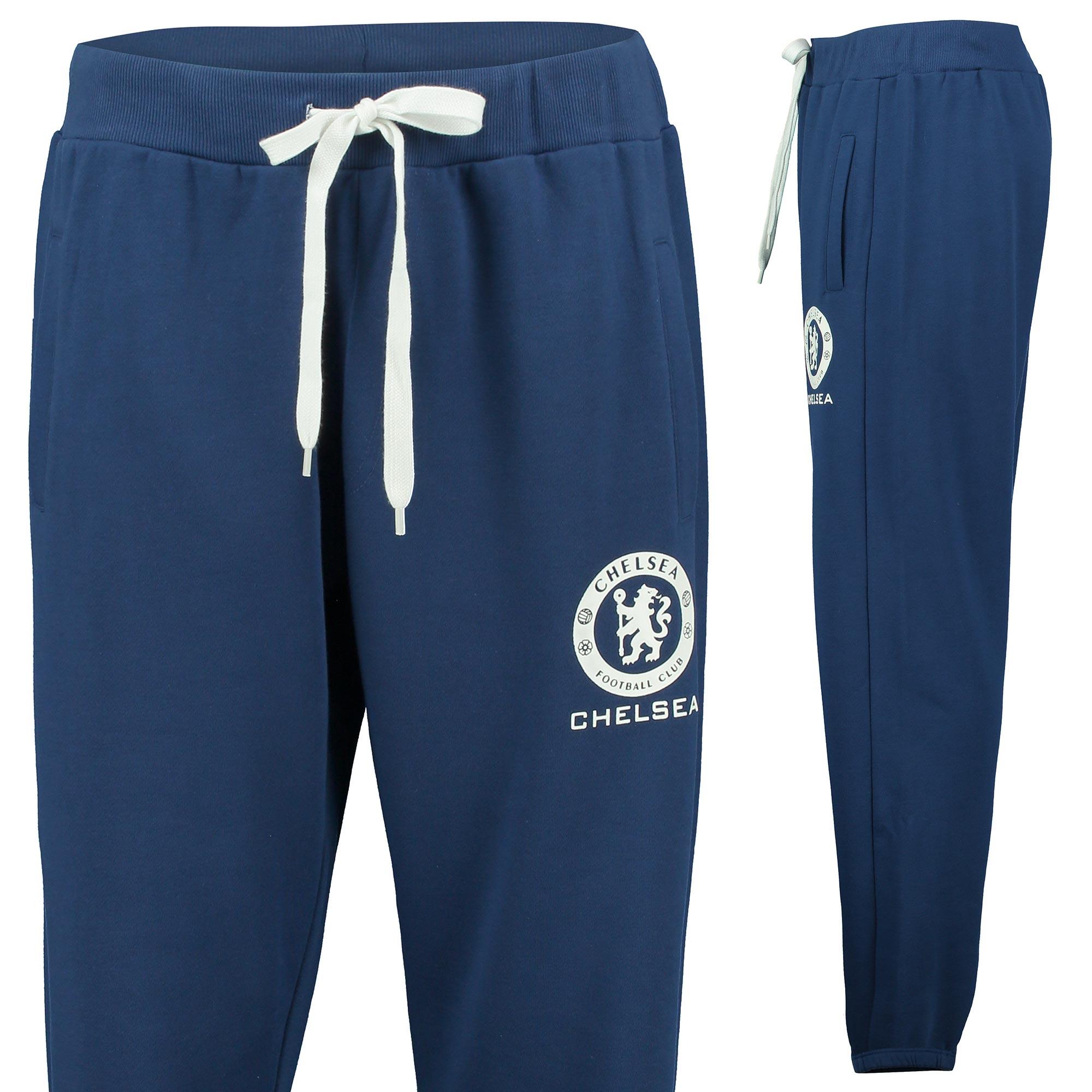 Chelsea Essential Slim Fit Fleece Joggers - Estate Blue - Mens