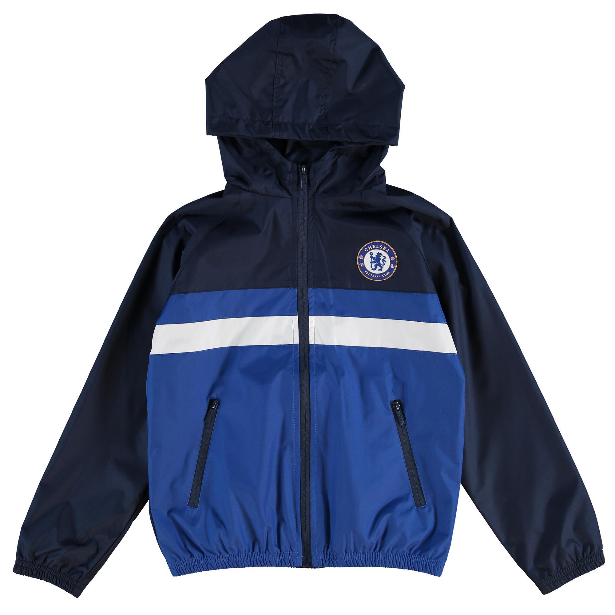 Chelsea Essential Shower Jacket - Navy - Older Boys