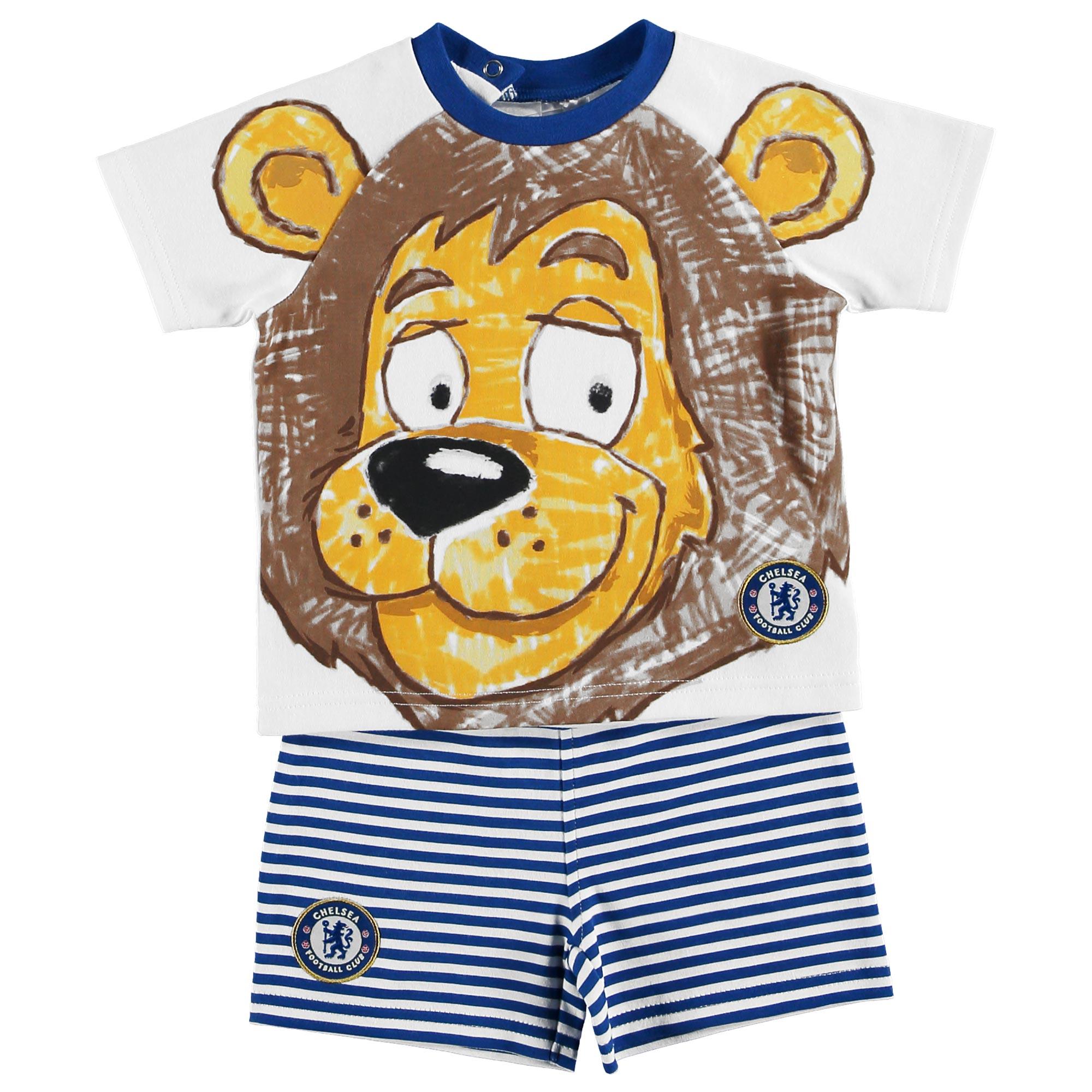 Chelsea Stamford Short & T-Shirt Set - Royal - Baby