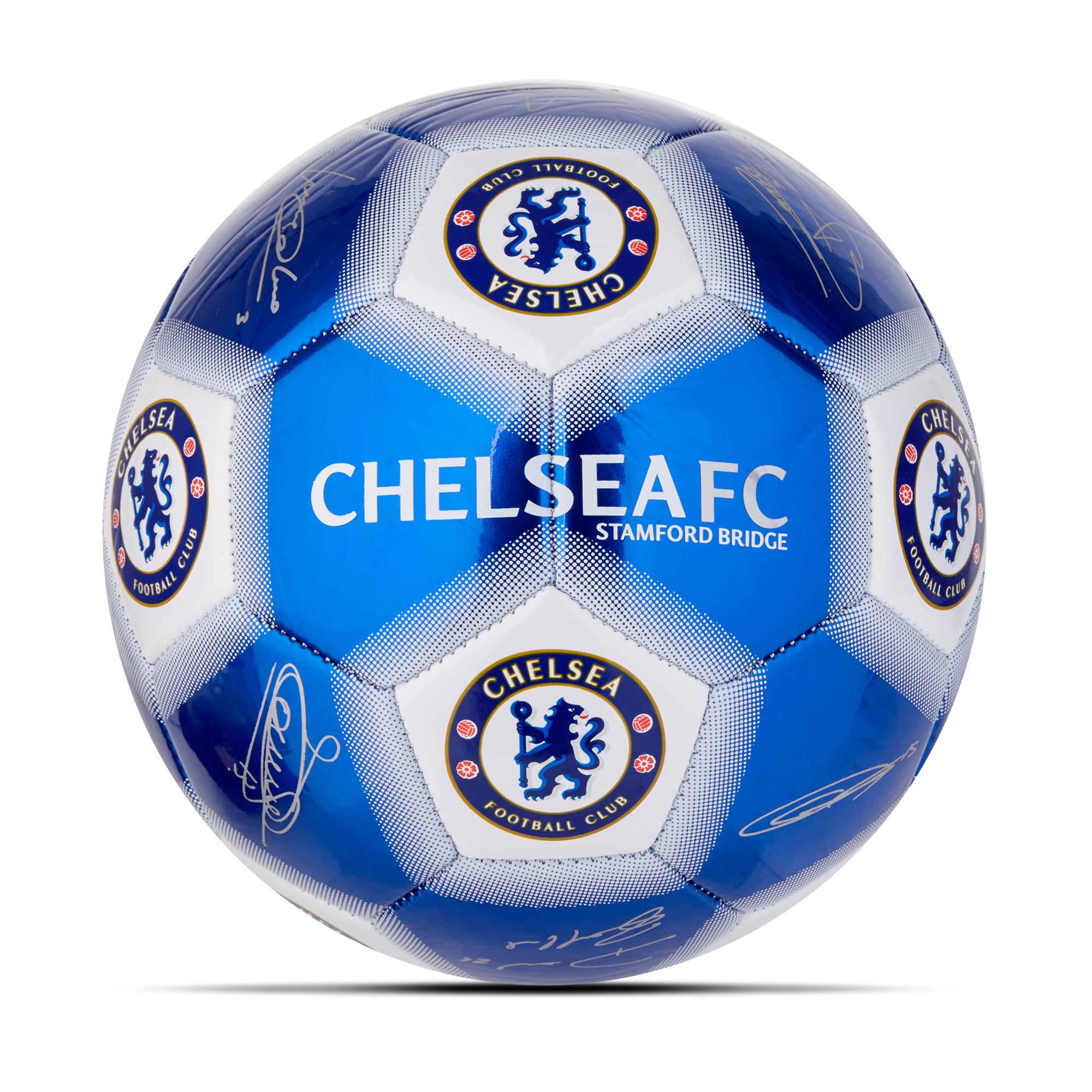 Hy-Pro / Balón de fútbol con firma del Chelsea