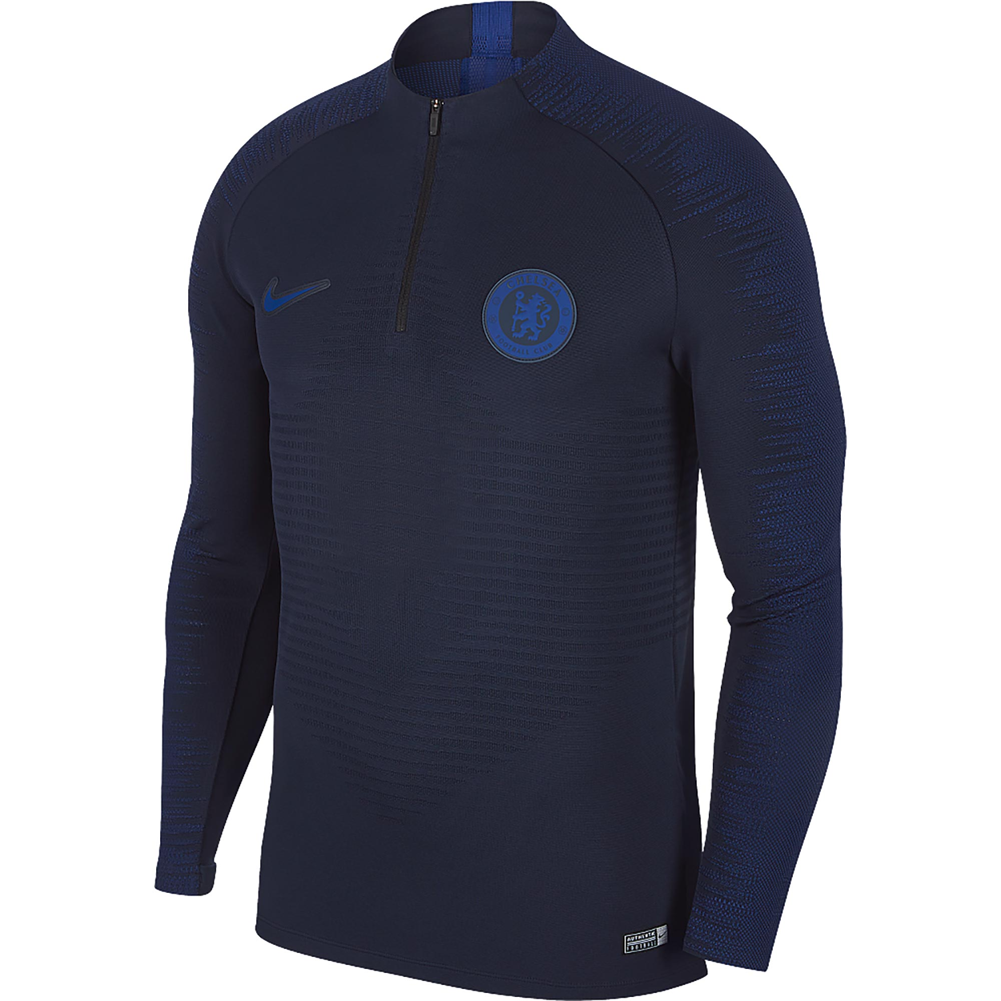 Nike / Camiseta Vaporknit Strike Drill del Chelsea en azul marino