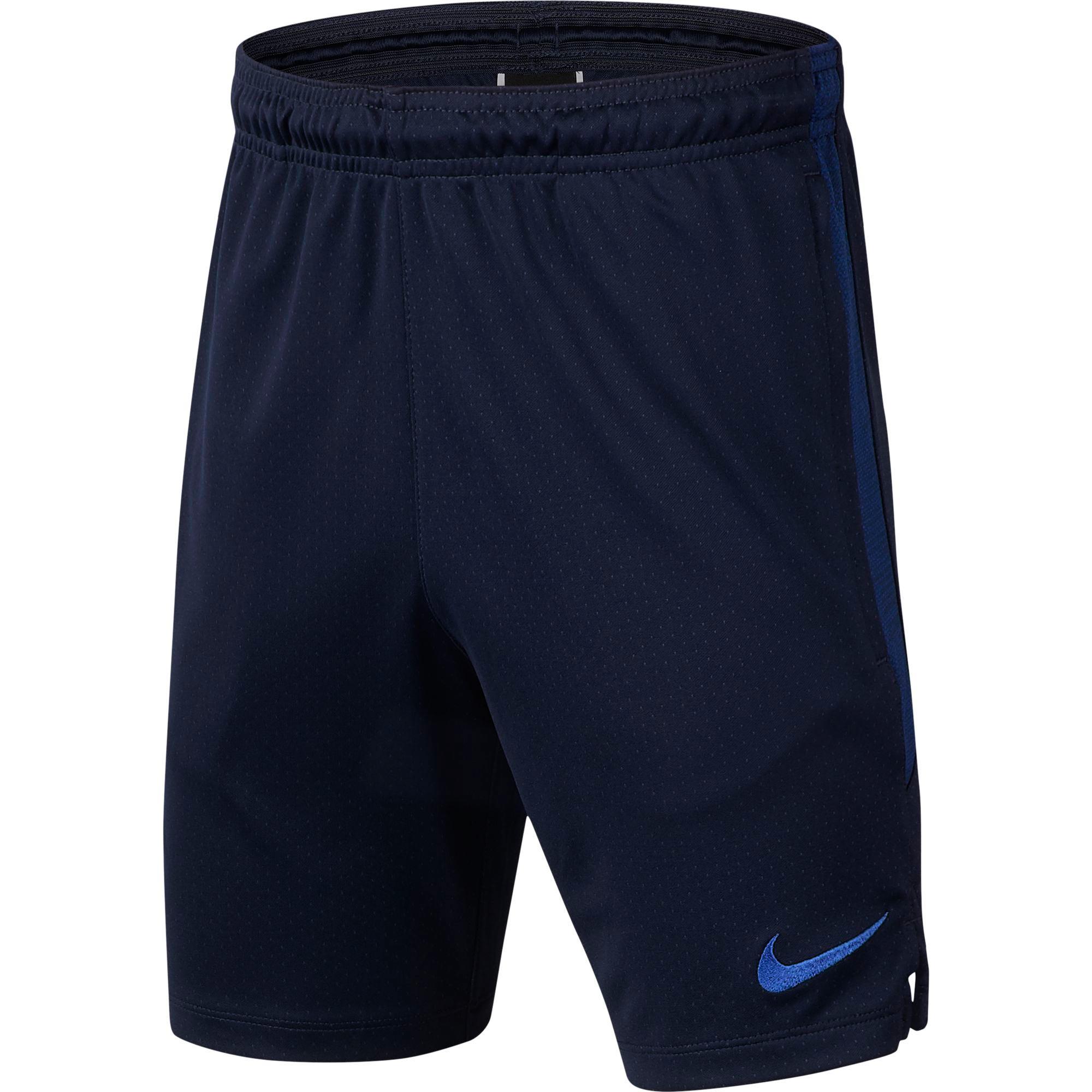 Chelsea Strike Training Shorts - Navy - Kids