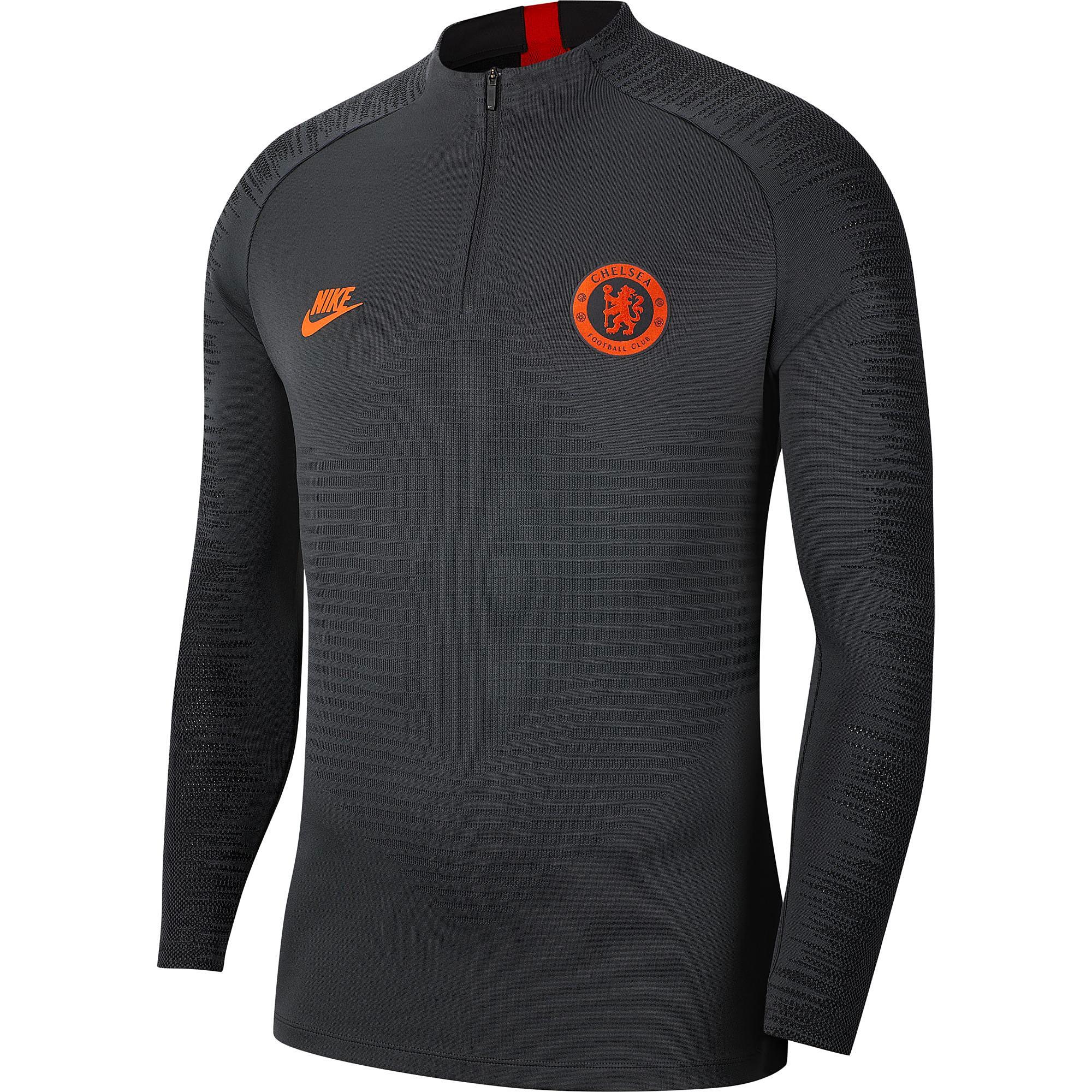 Nike / Camiseta Vaporknit Strike Drill del Chelsea en gris