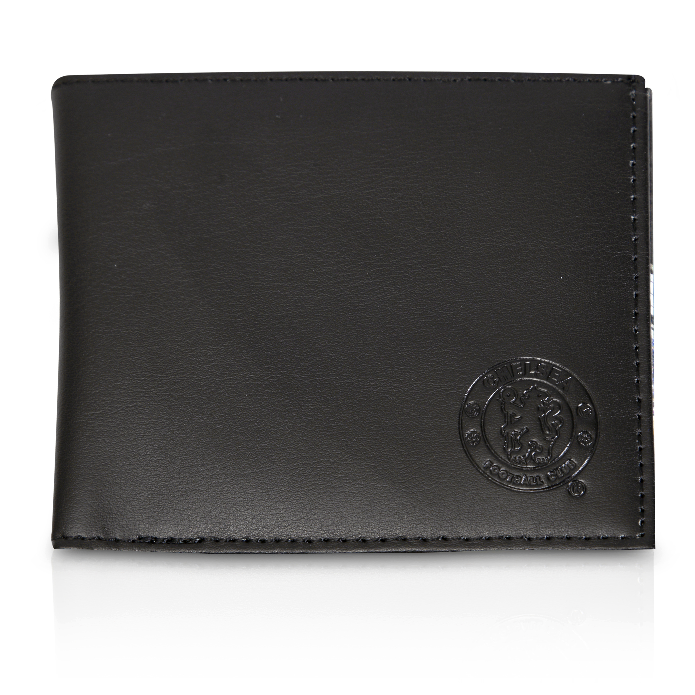 Chelsea Stadium Leather Wallet - Black