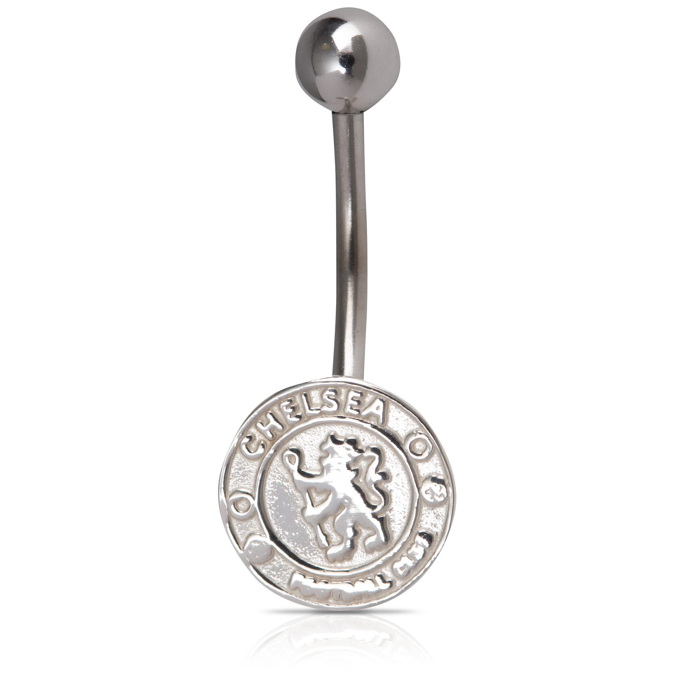 Chelsea Crest Body Bar - Sterling Silver