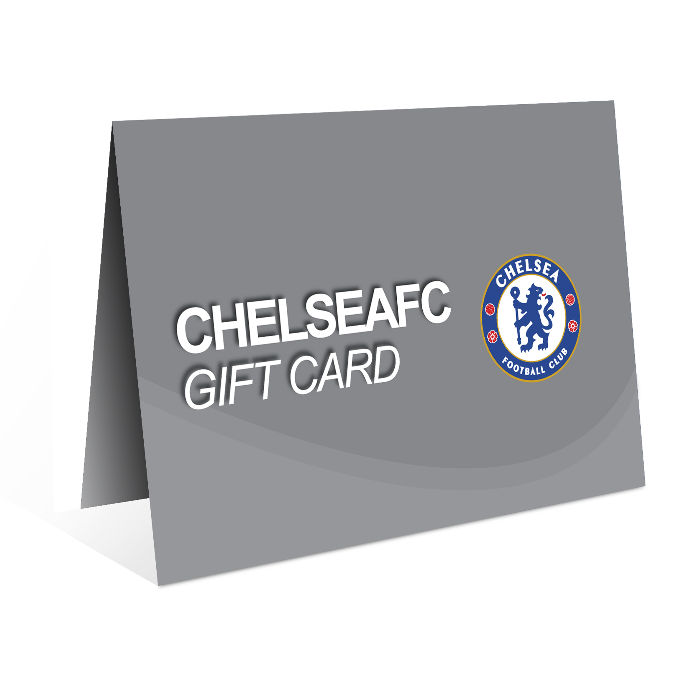 Chelsea Football Club Gift Card – Silver – Value £100