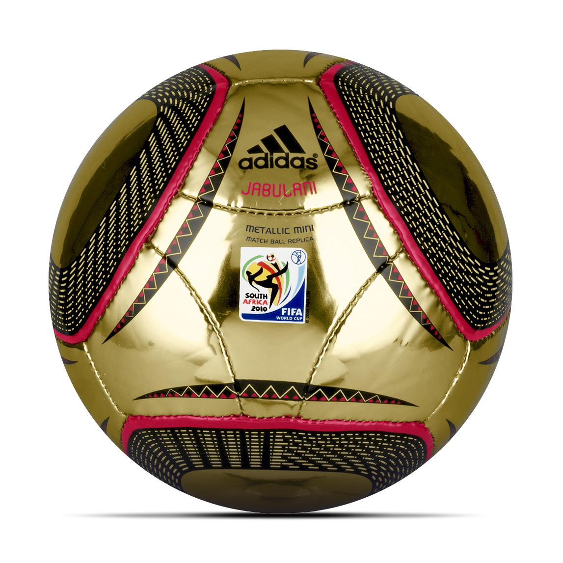 adidas World Cup 2010 Metallic Miniball - Size 1