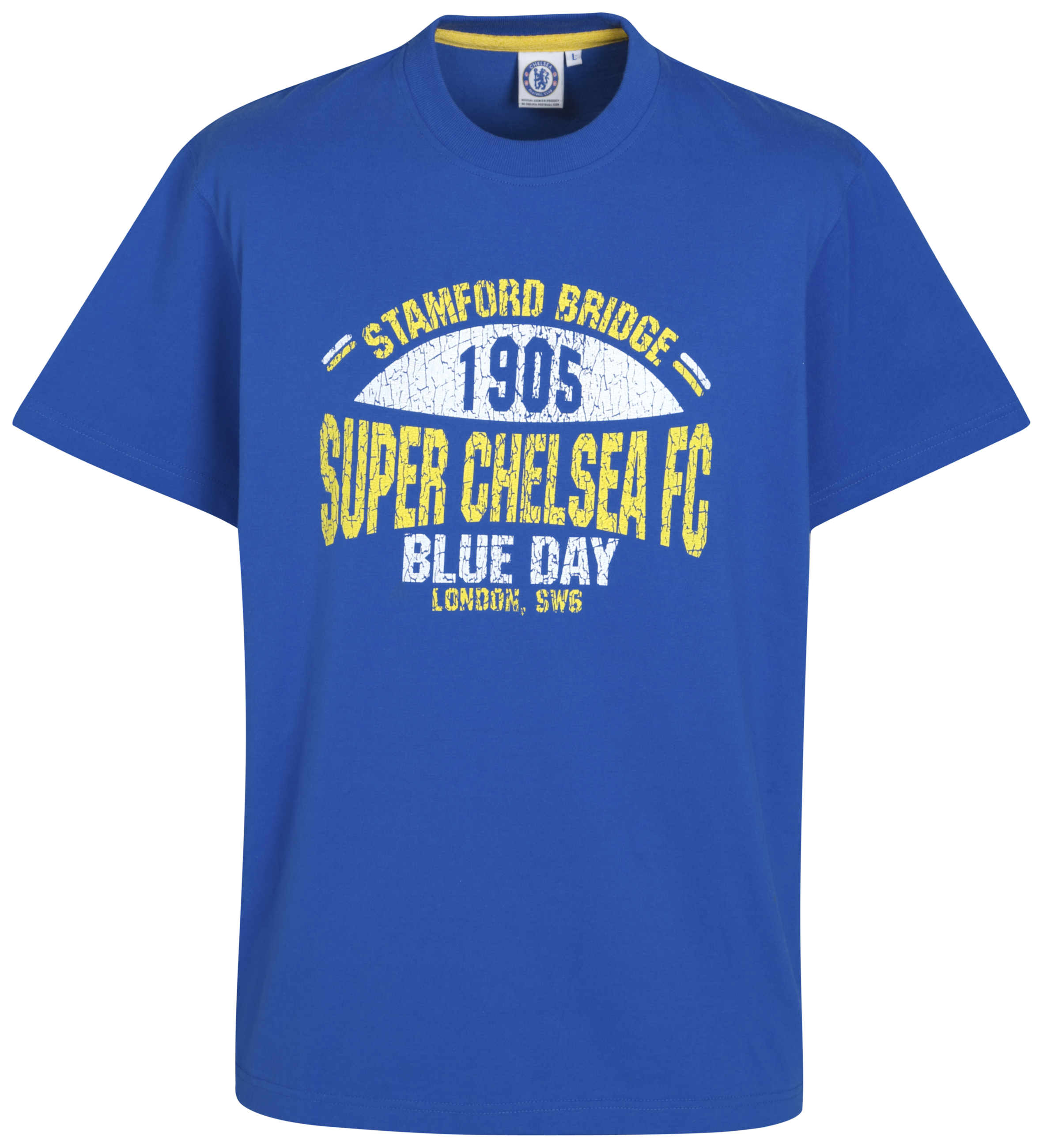 Chelsea Super Chelsea retro Graphic T Shirt Reflex Blue