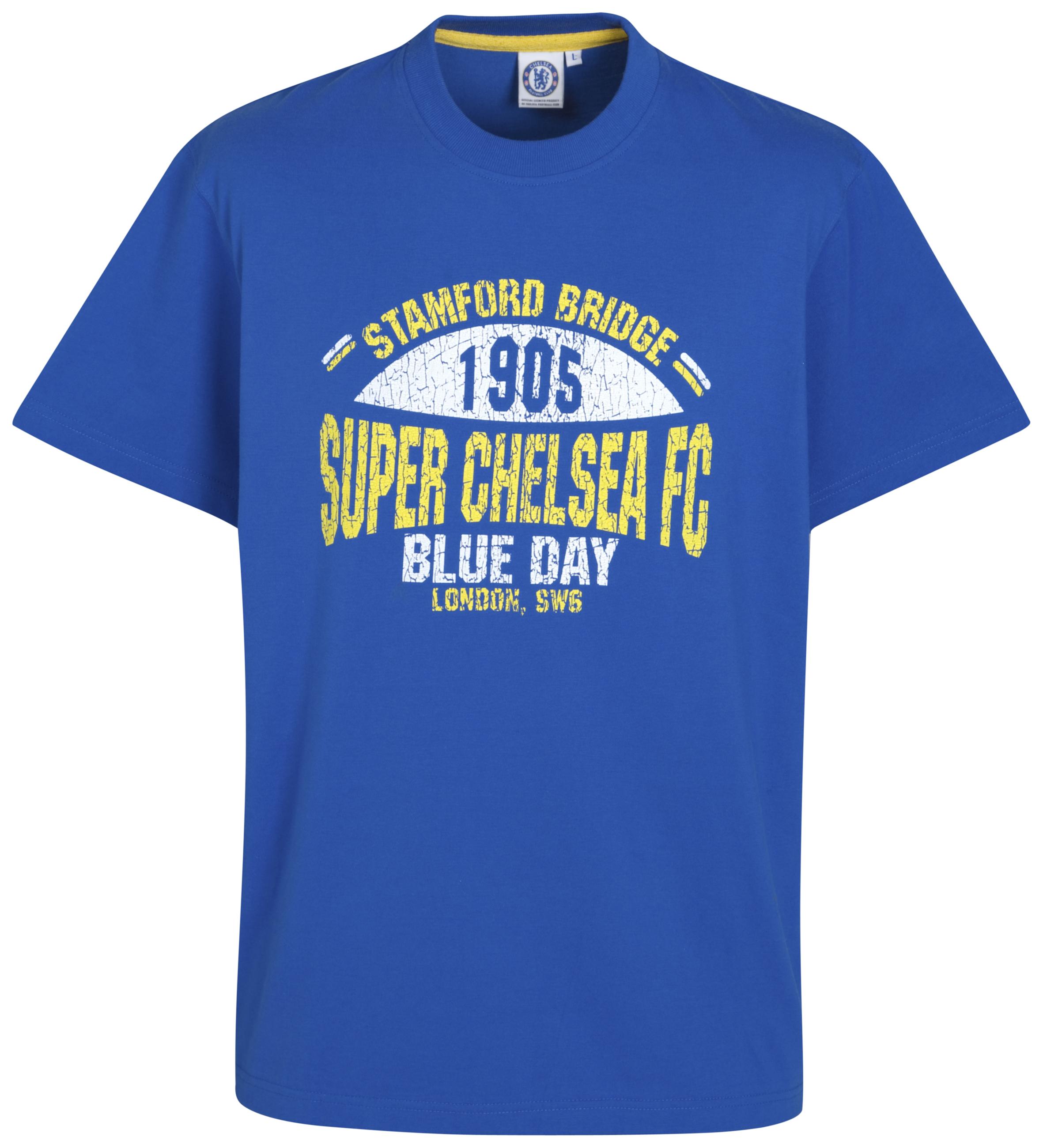 Chelsea Super Chelsea retro Graphic T Shirt Reflex Blue