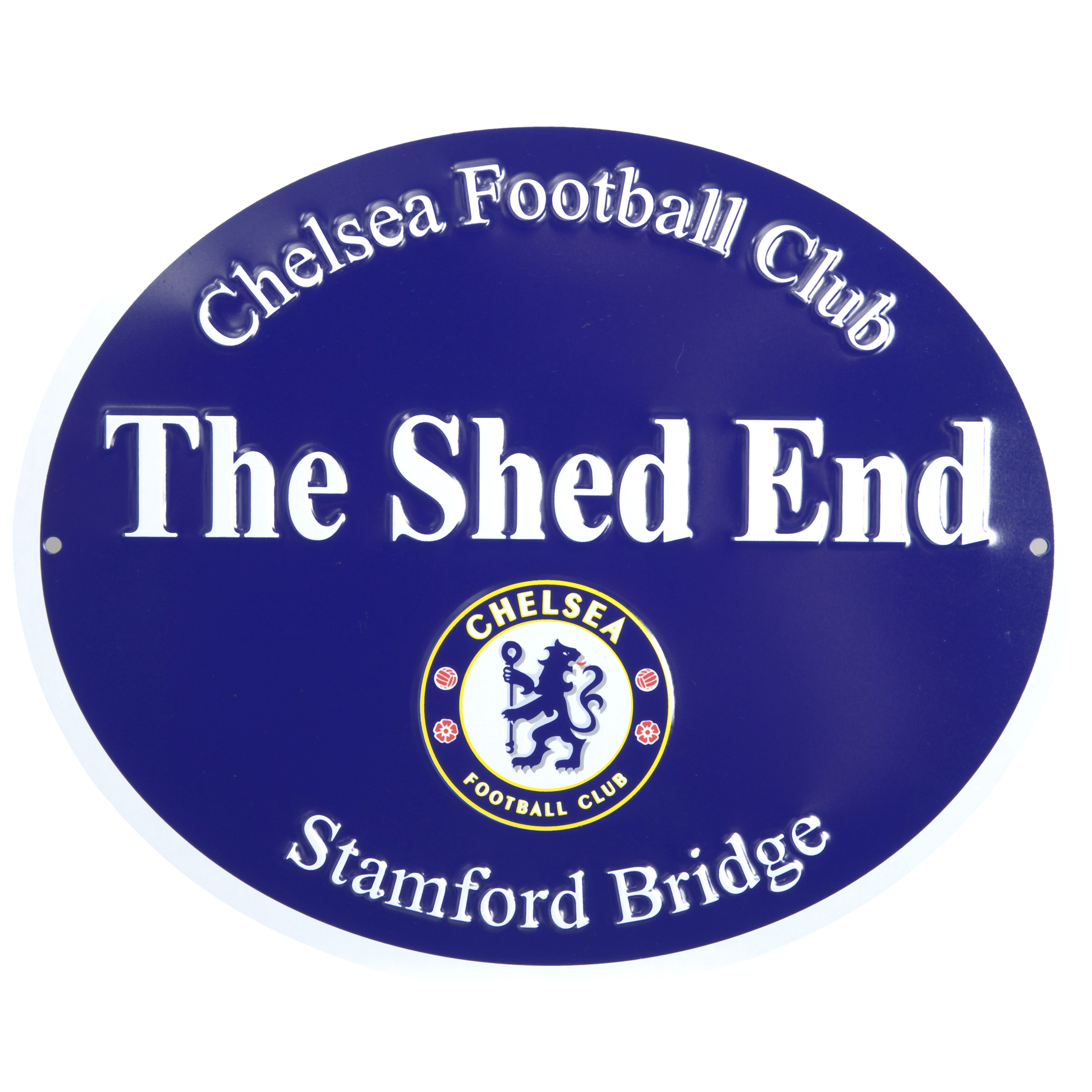 Chelsea 3D Metal Shed End Street Sign