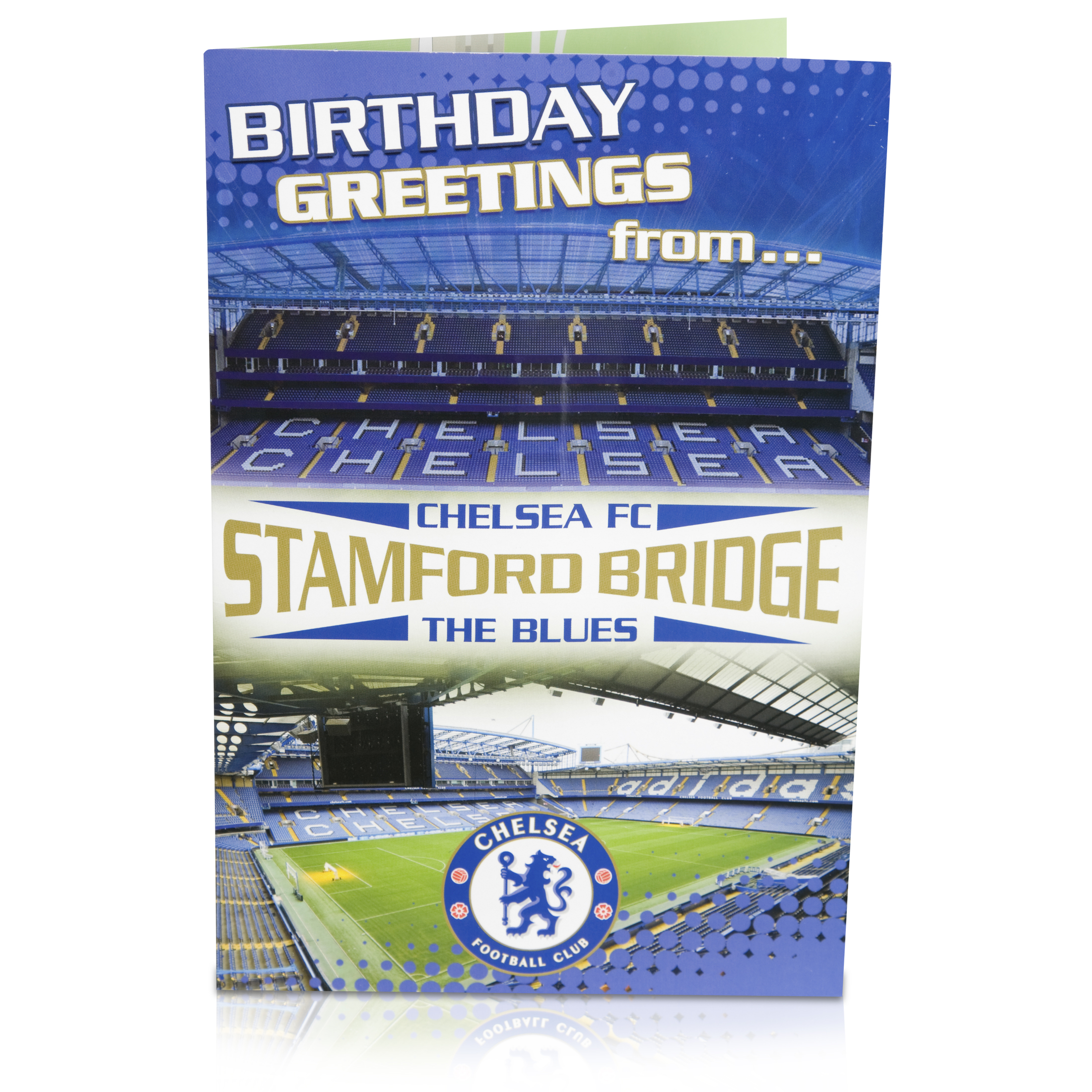 Chelsea Happy Birthday Stadium Pop Up Card