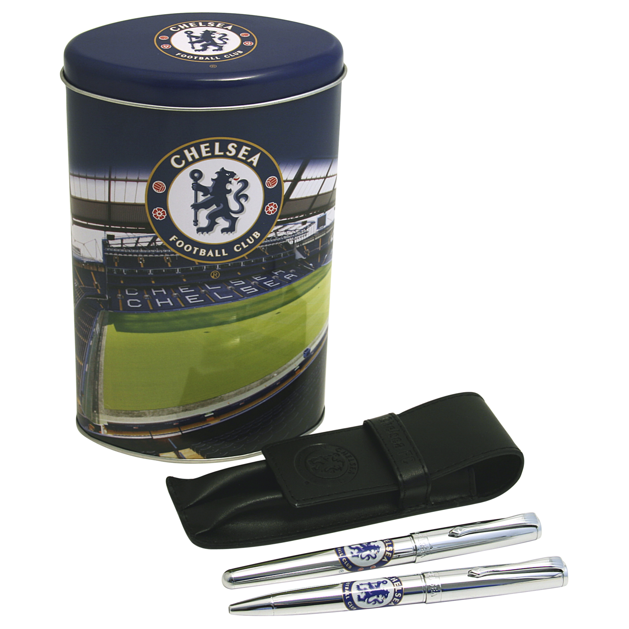 Chelsea Dual Pen And Tin Set