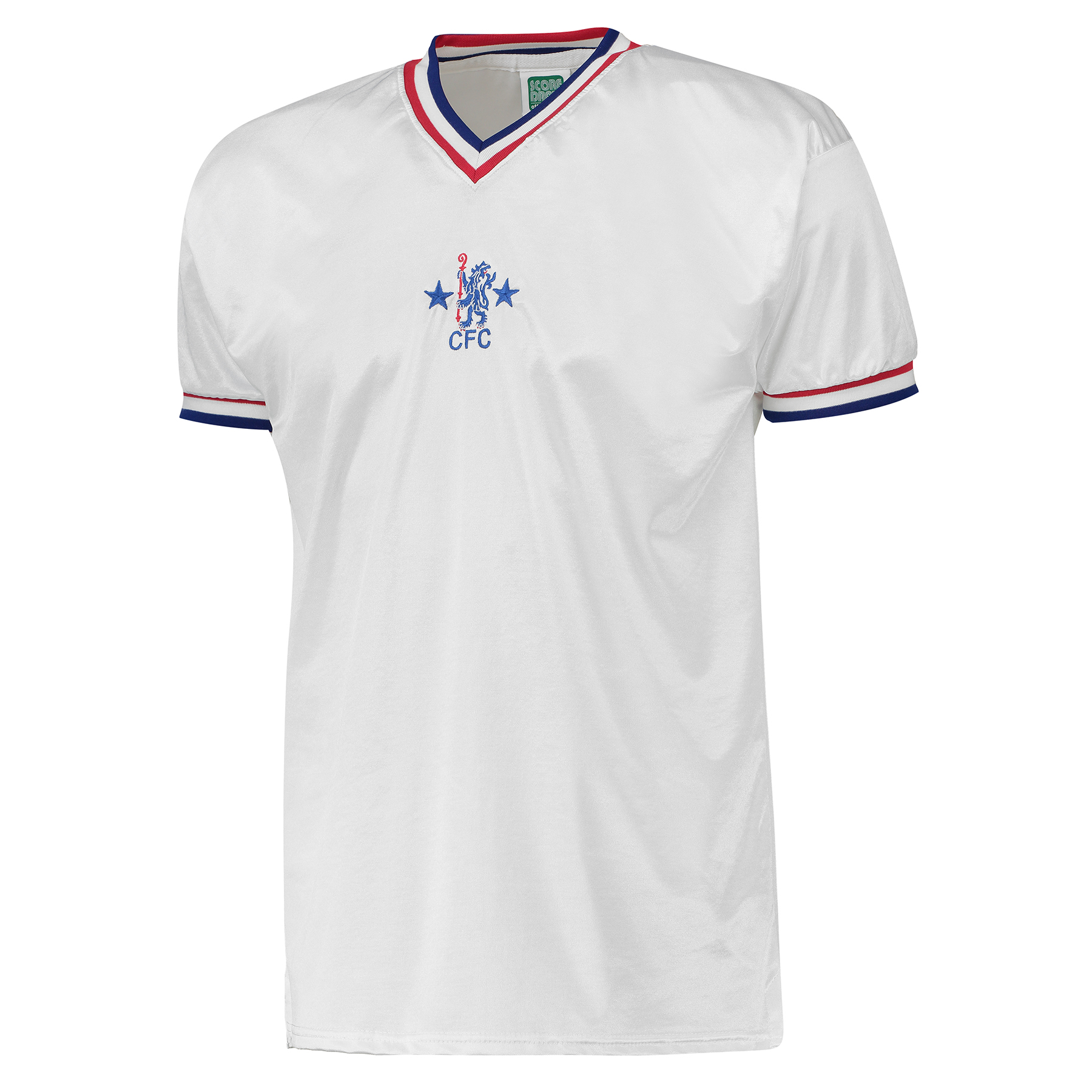Chelsea 1982 Third Shirt - White