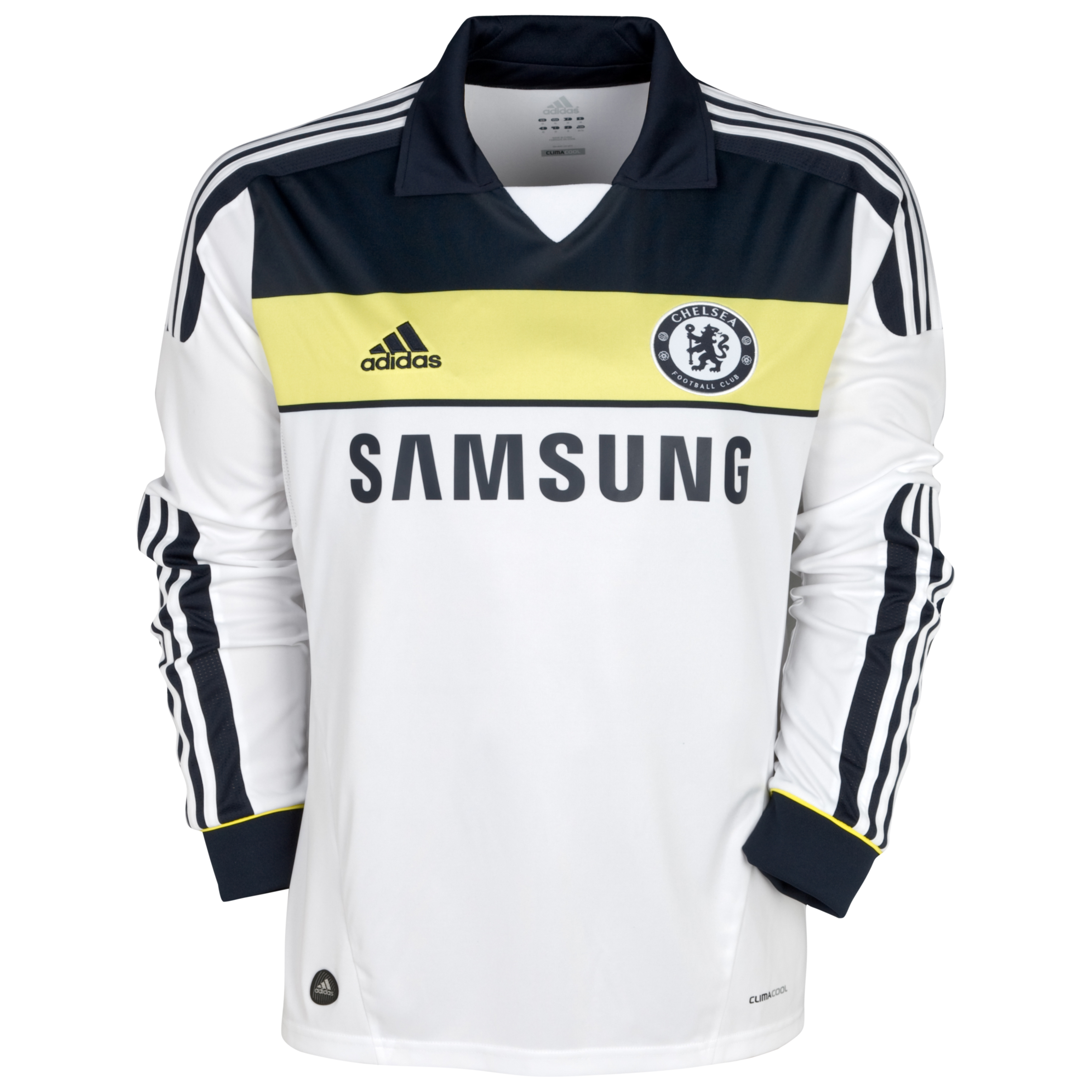 Chelsea Third Shirt 2011/12 - Long Sleeve