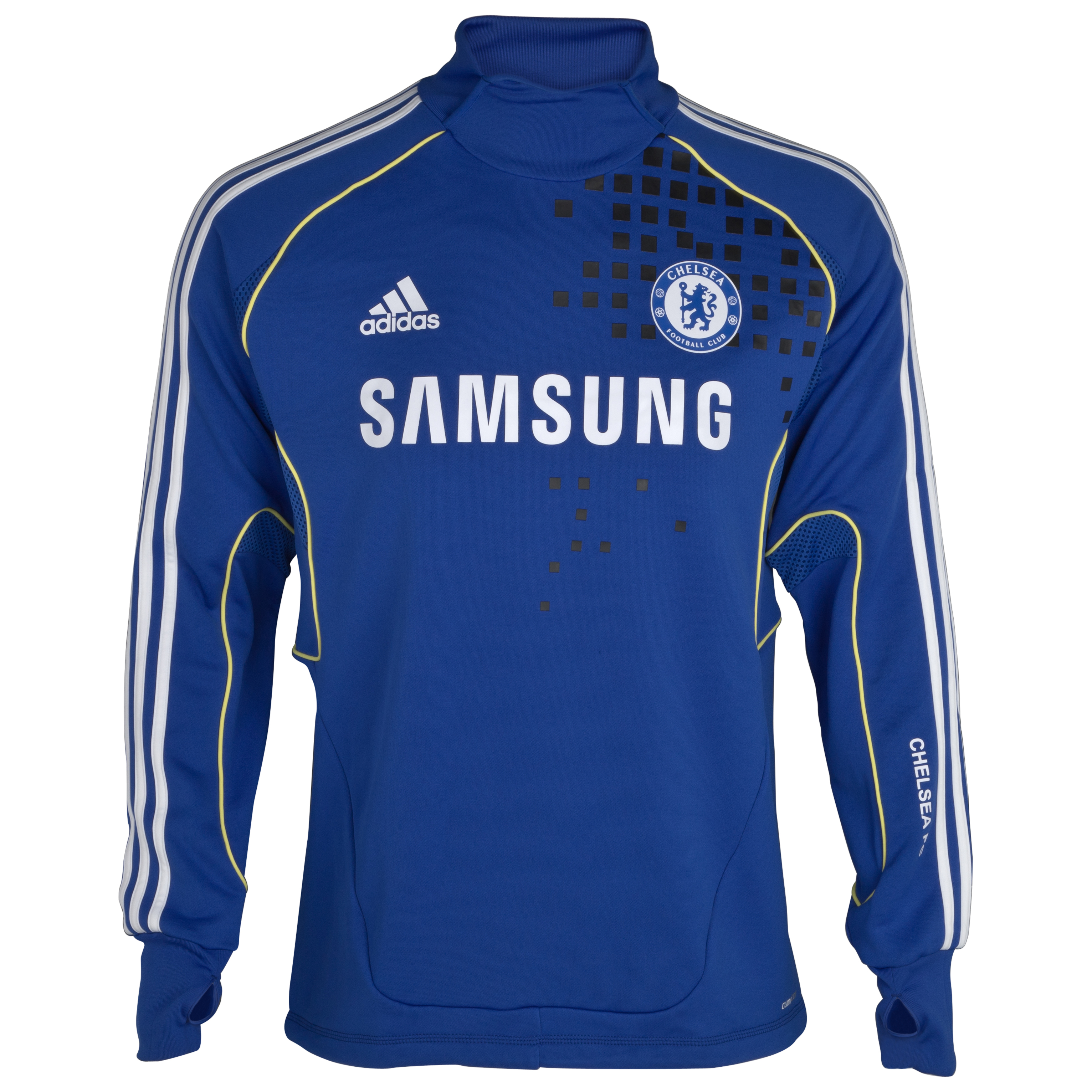 Chelsea Training Top - Reflex Blue/white/lemon/black