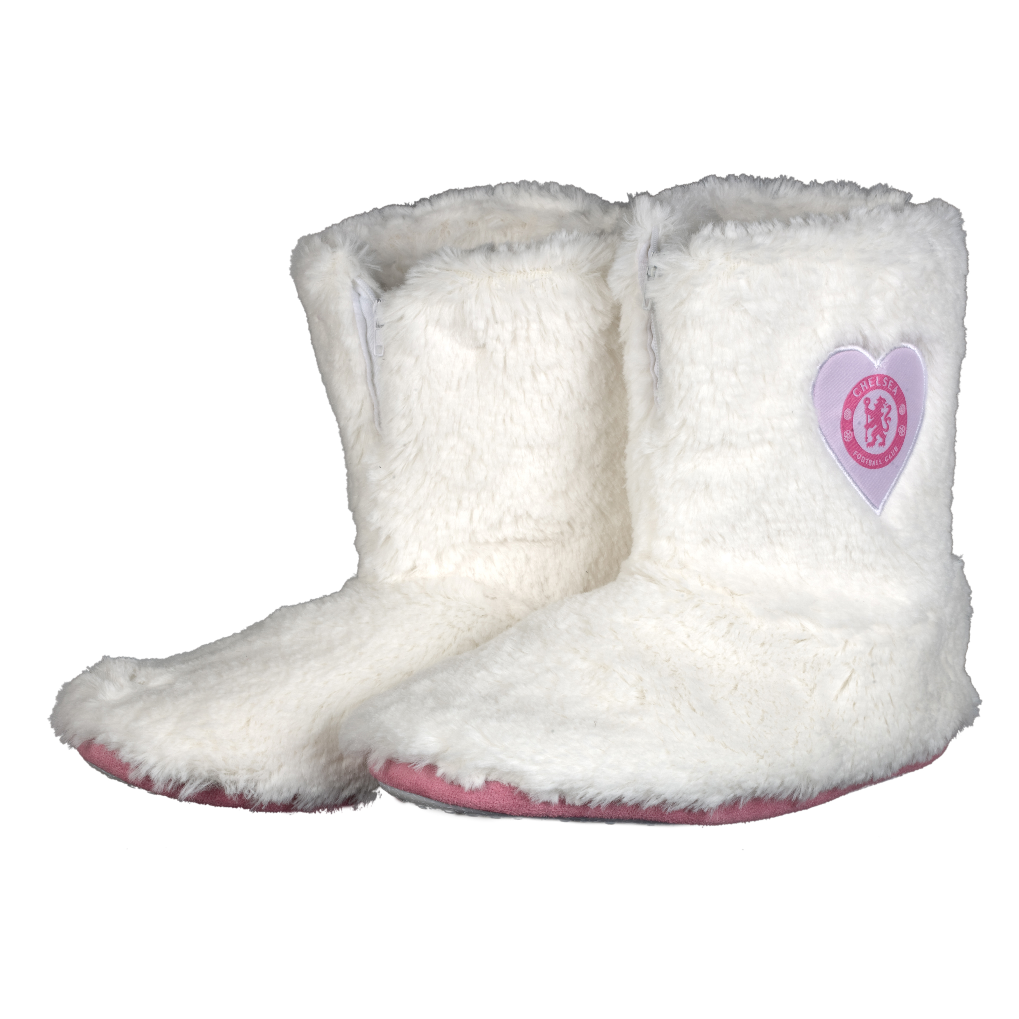 Chelsea Fur Boot Slippers - Girls
