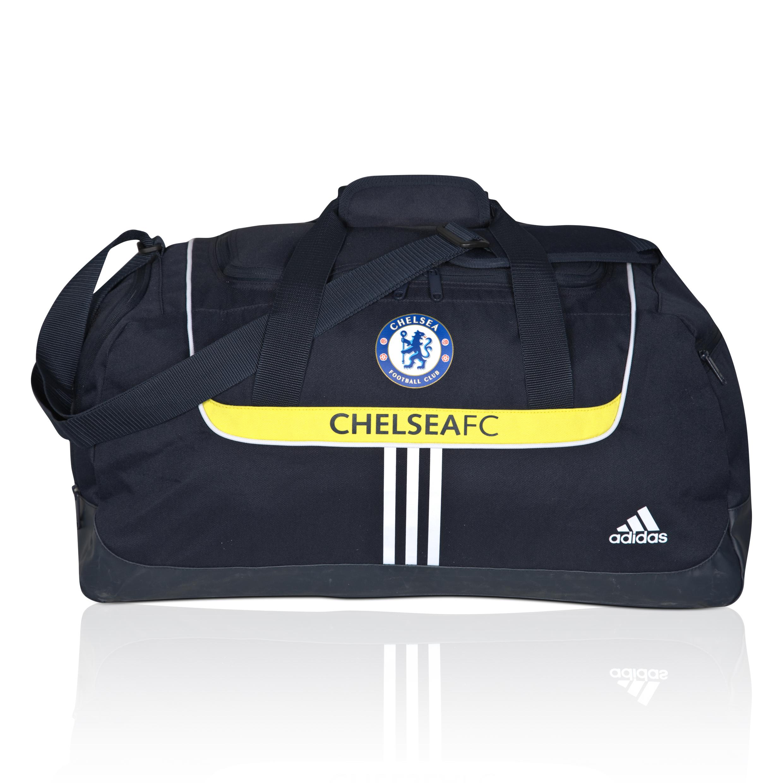 Football & Training|Fitness & Gymnastics|Chelsea adidas Chelsea Team Bag - Dark Navy/White