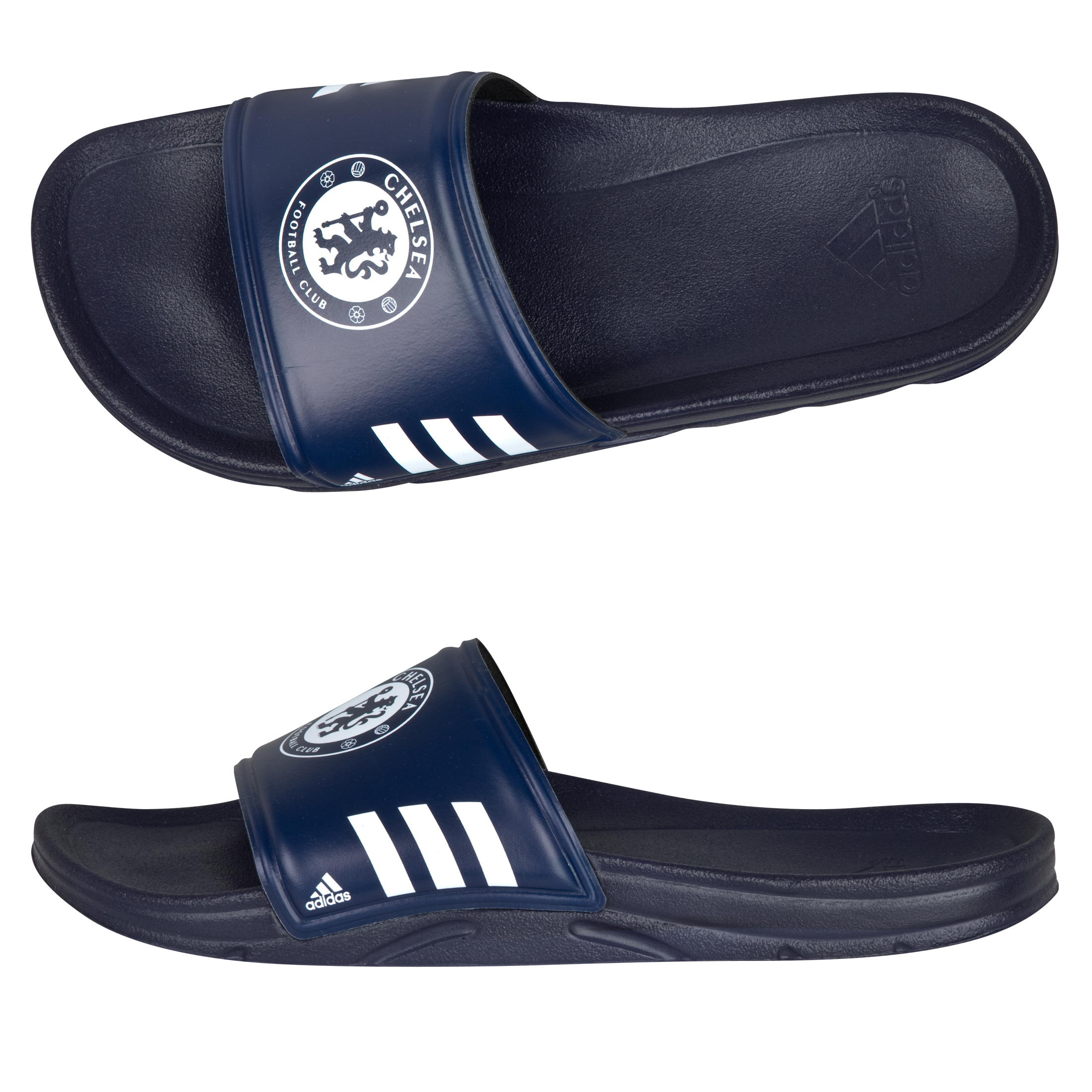 adidas Chelsea Slide Flip Flop - New Navy / White