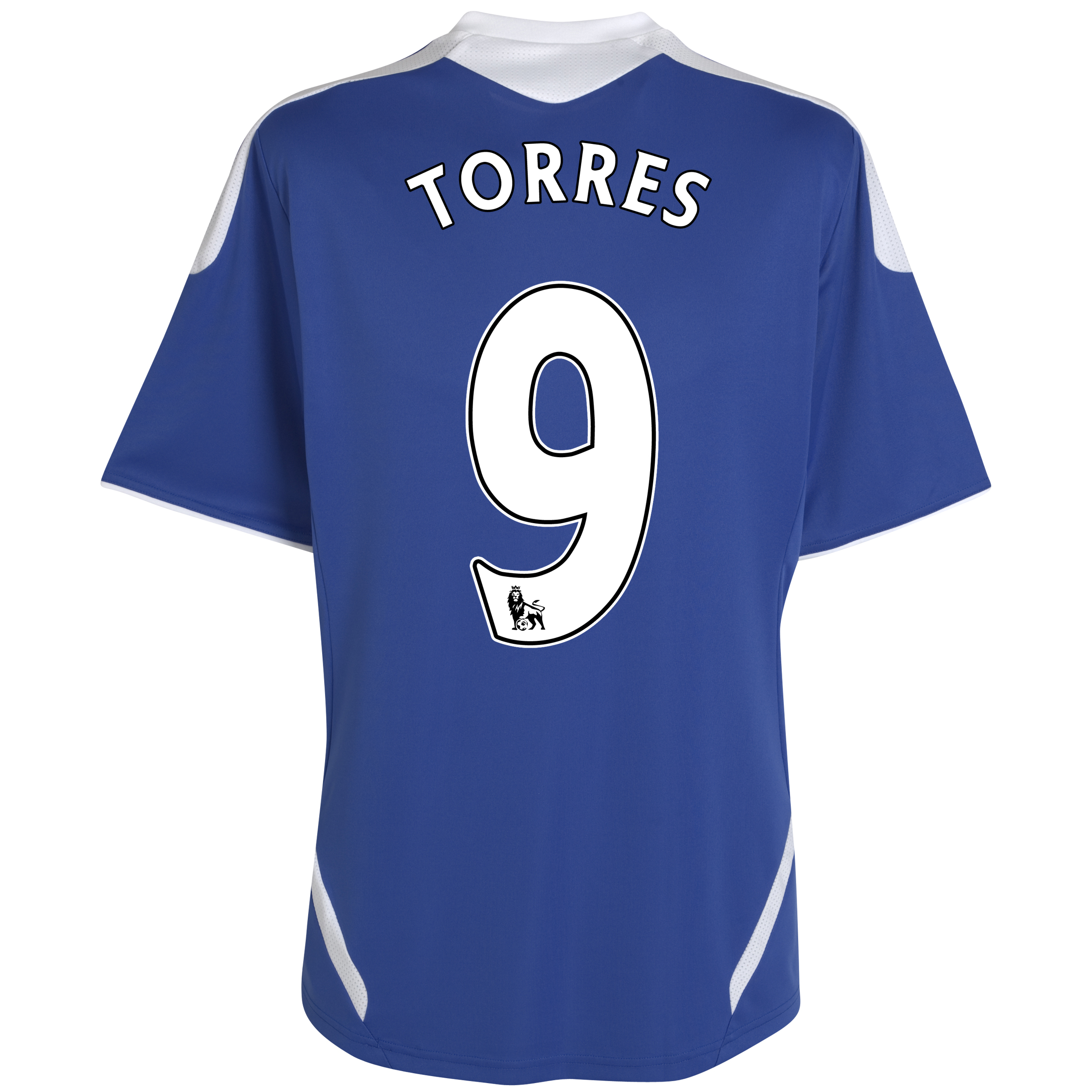Chelsea Home Shirt 2011/12 - Kids with Torres 9 printing
