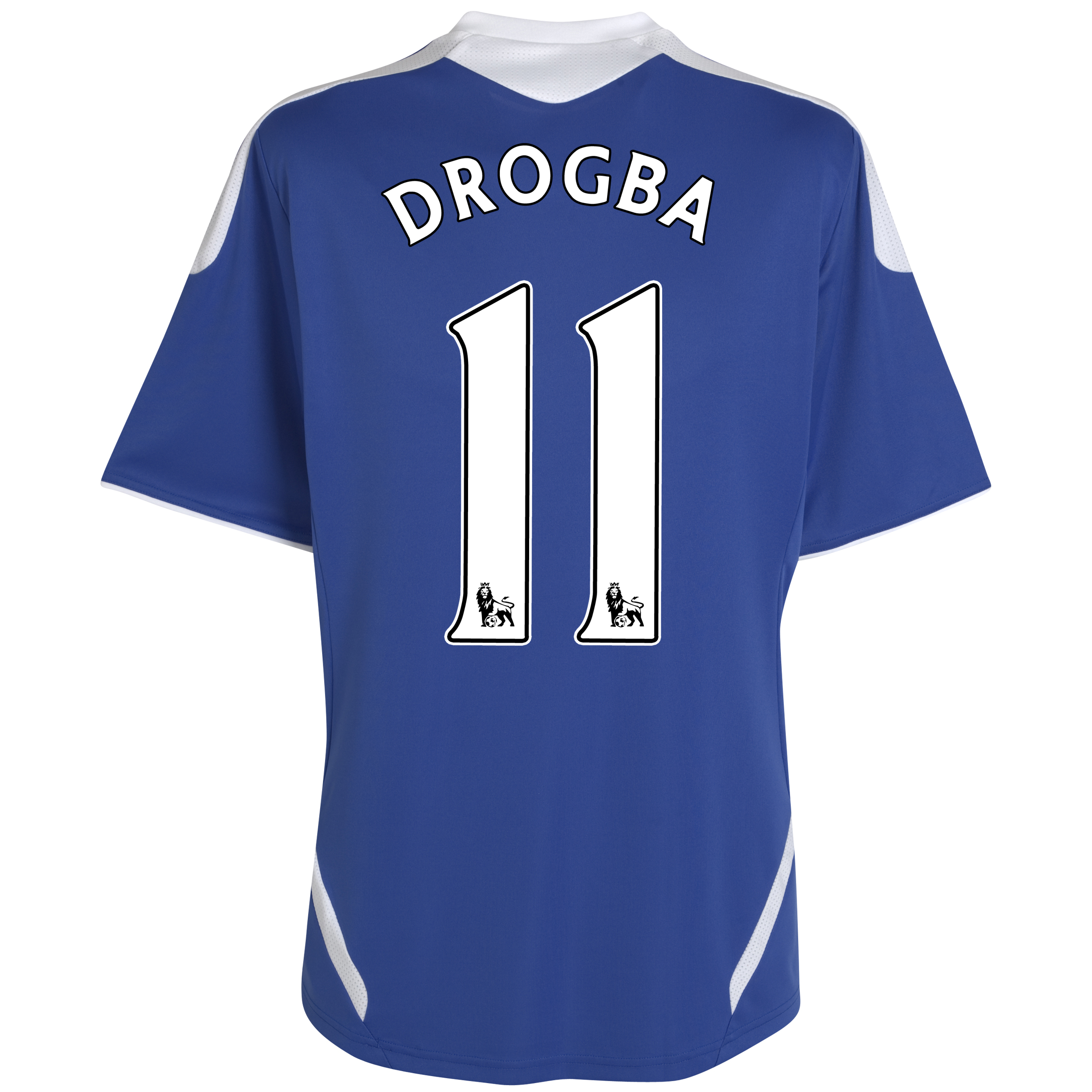 Chelsea Home Shirt 2011/12 - Kids with Drogba 11 printing