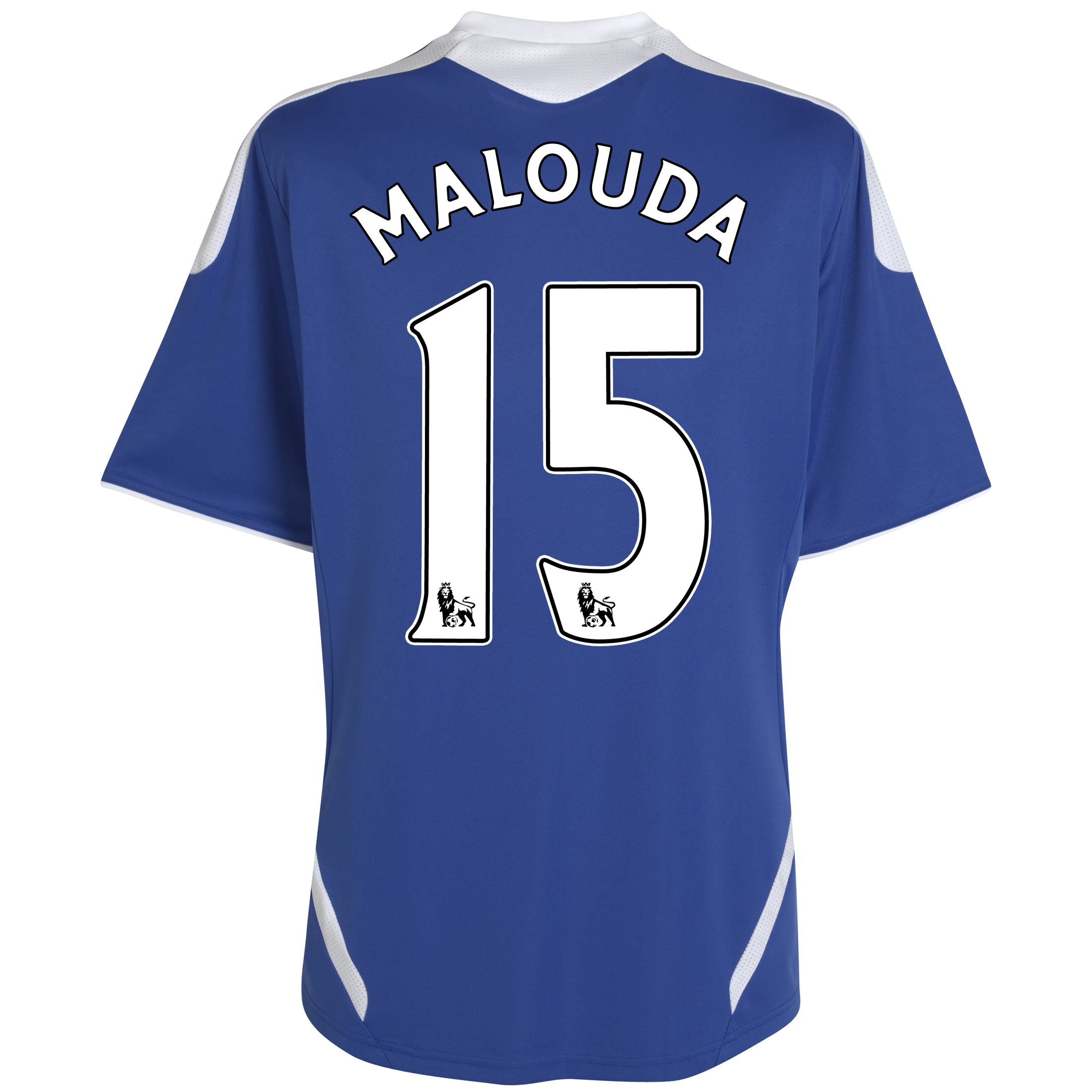Chelsea Home Shirt 2011/12 - Kids with Malouda 15 printing