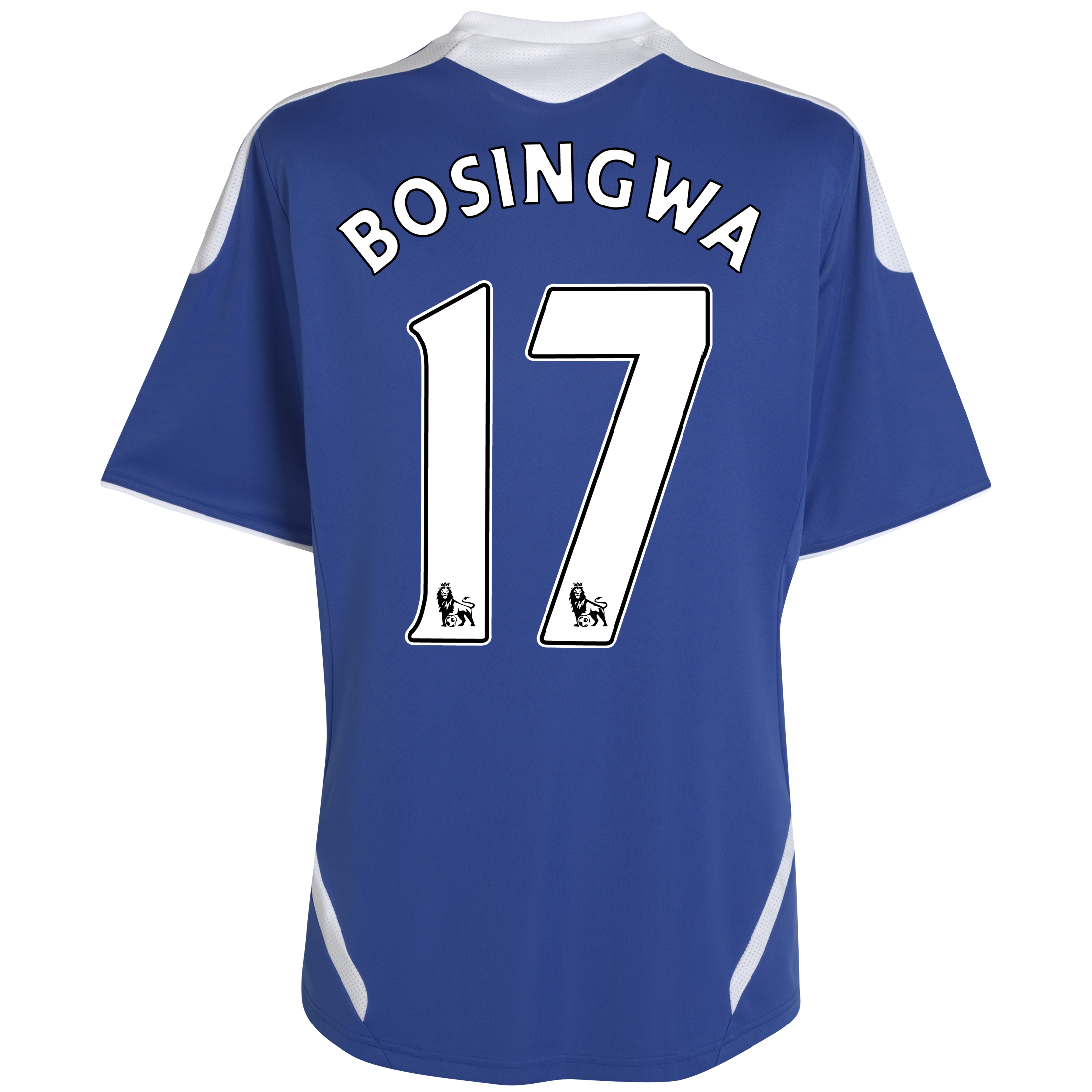 Chelsea Home Shirt 2011/12 - Kids with Bosingwa 17 printing