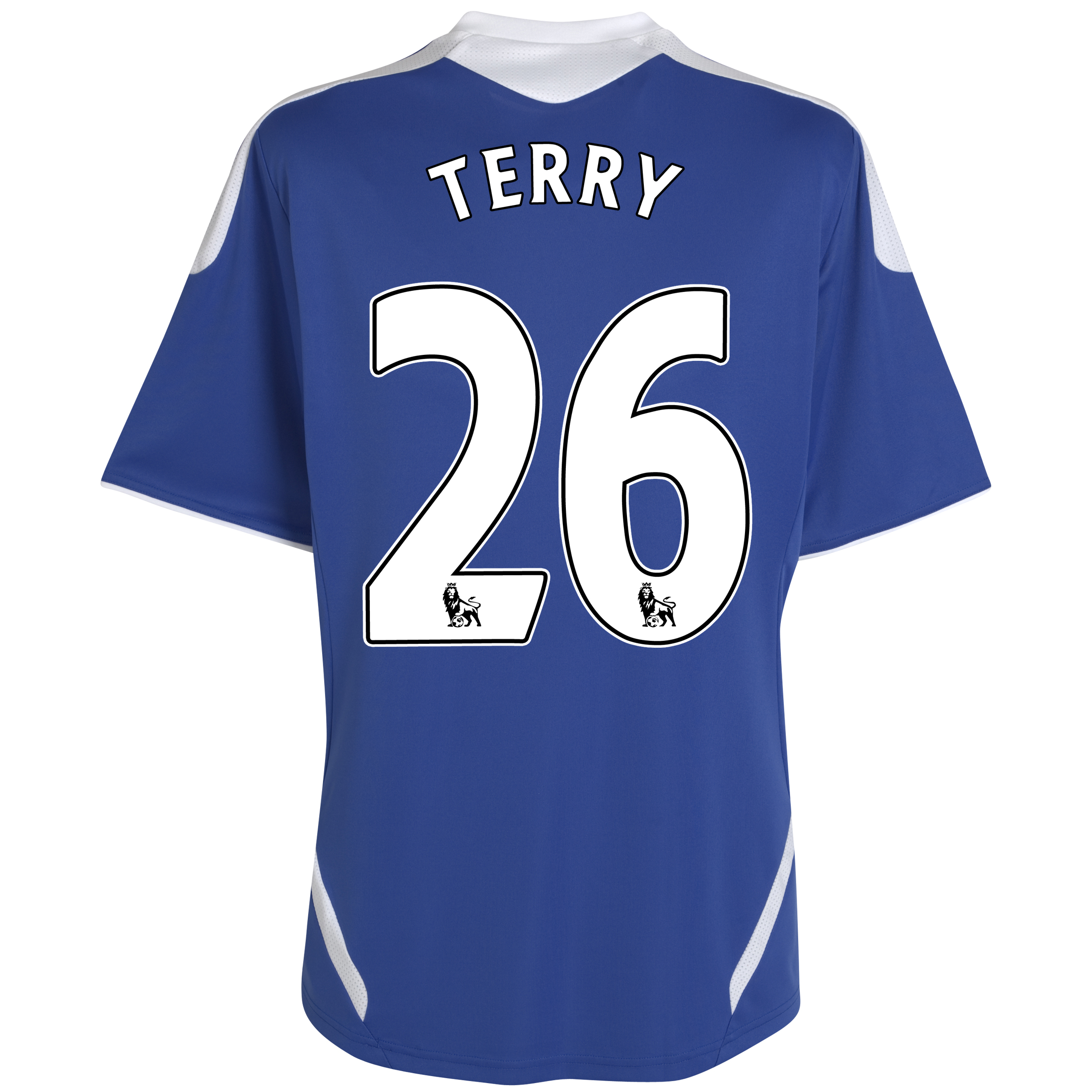 Chelsea Home Shirt 2011/12 - Kids with Terry 26 printing