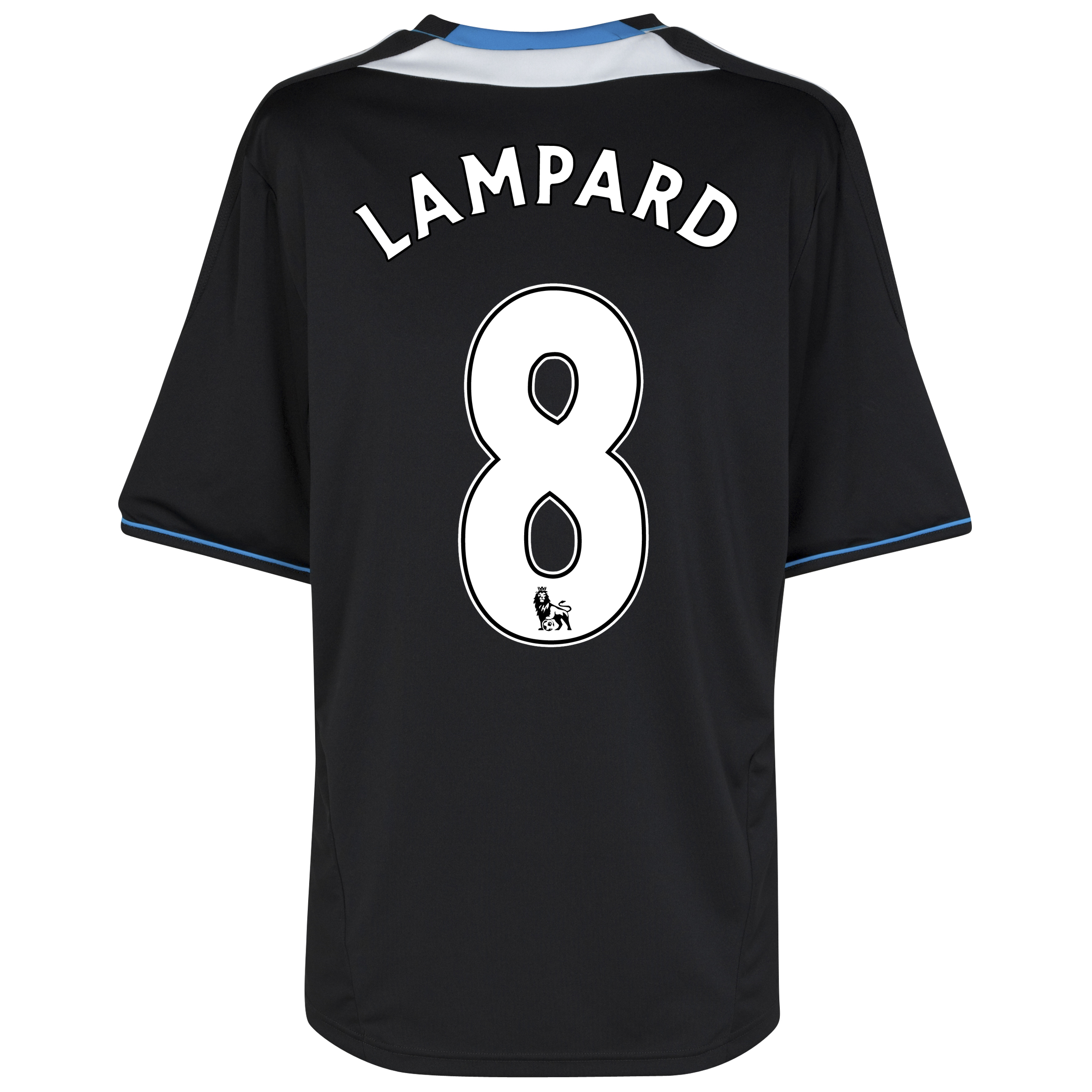 Chelsea Away Shirt 2011/12 with Lampard 8 printing