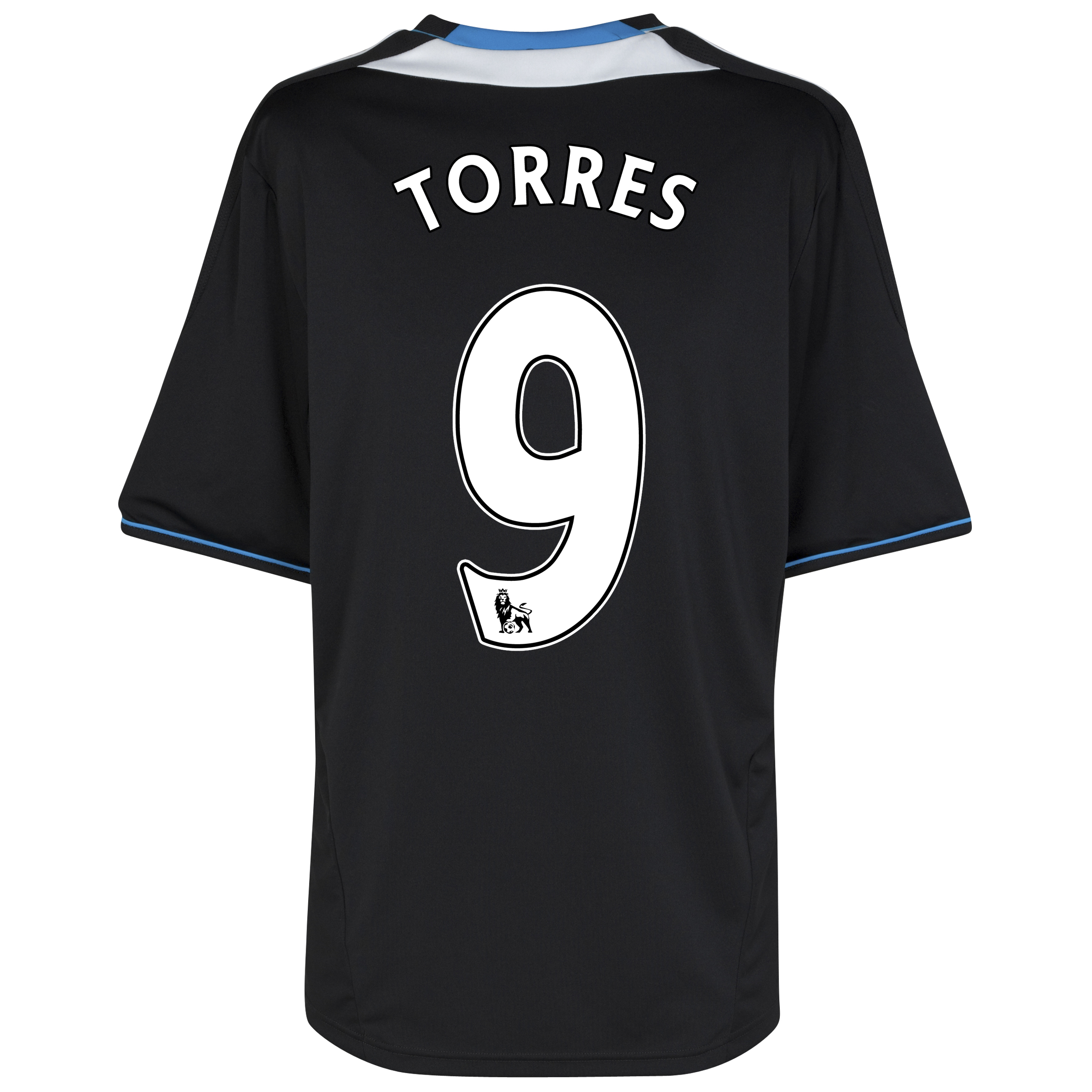 Chelsea Away Shirt 2011/12 with Torres 9 printing