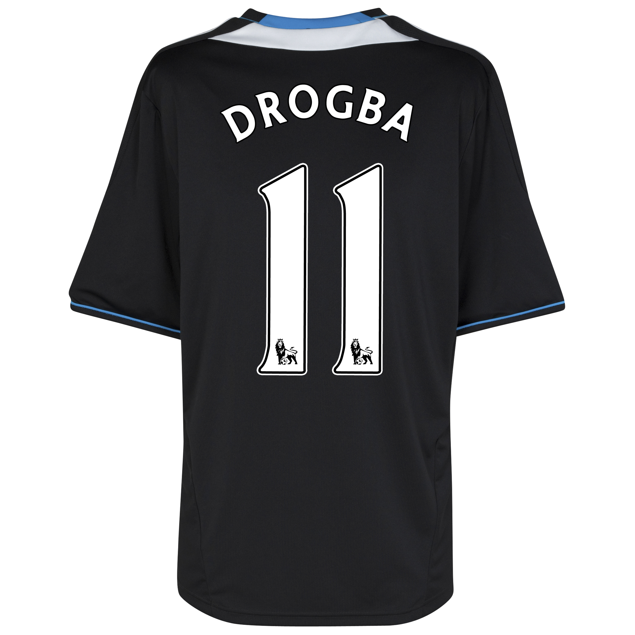Chelsea Away Shirt 2011/12 with Drogba 11 printing