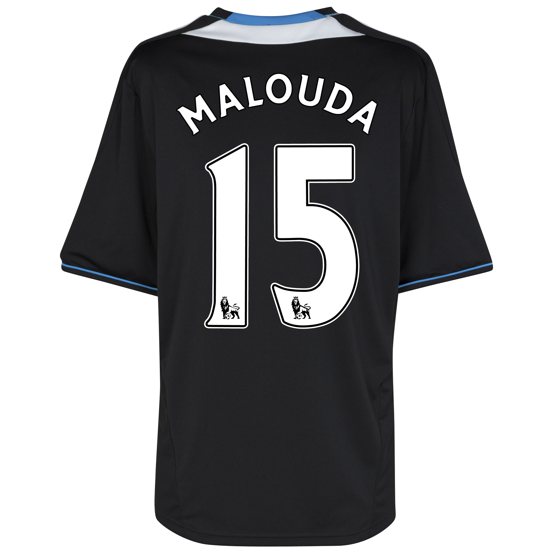 Chelsea Away Shirt 2011/12 with Malouda 15 printing