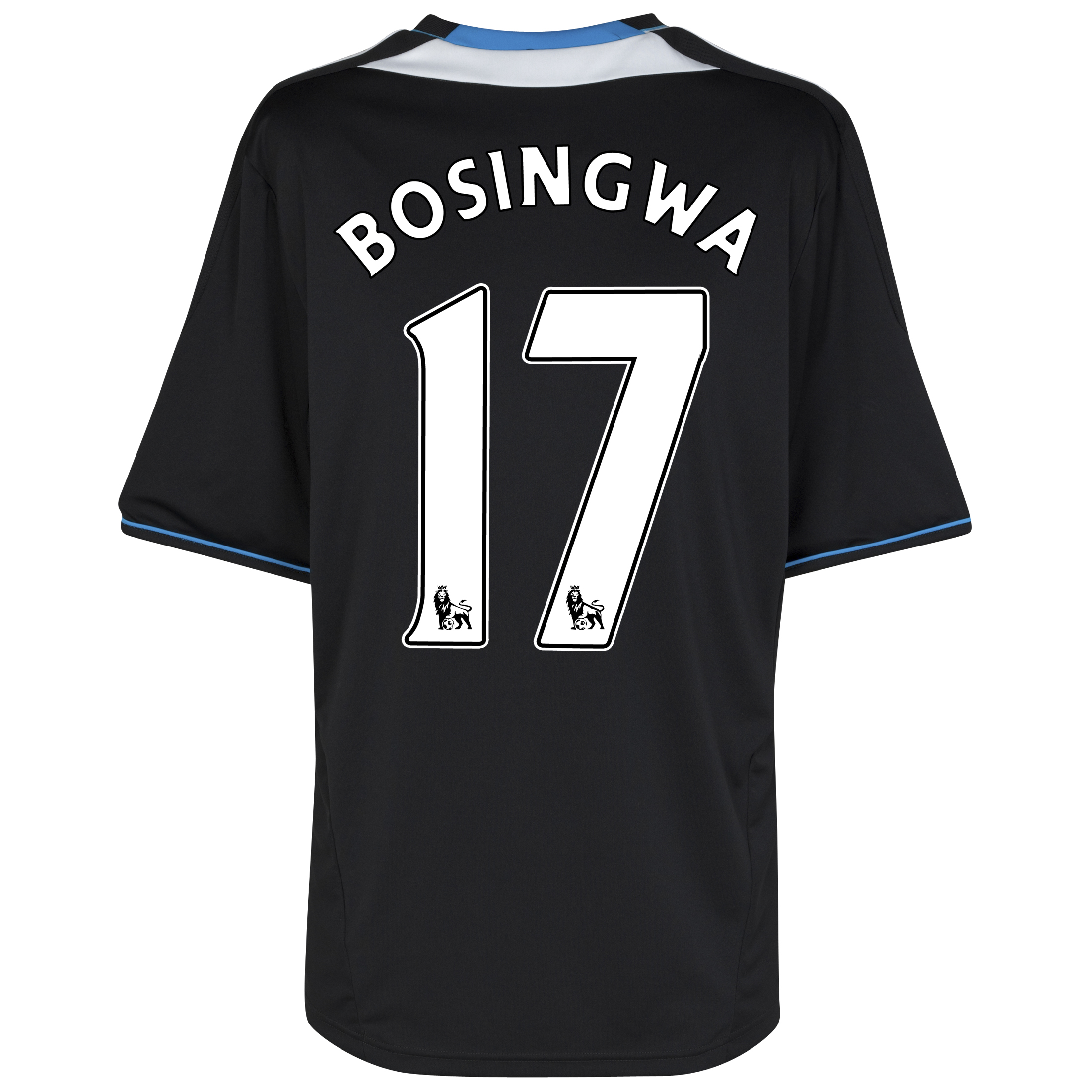 Chelsea Away Shirt 2011/12 with Bosingwa 17 printing