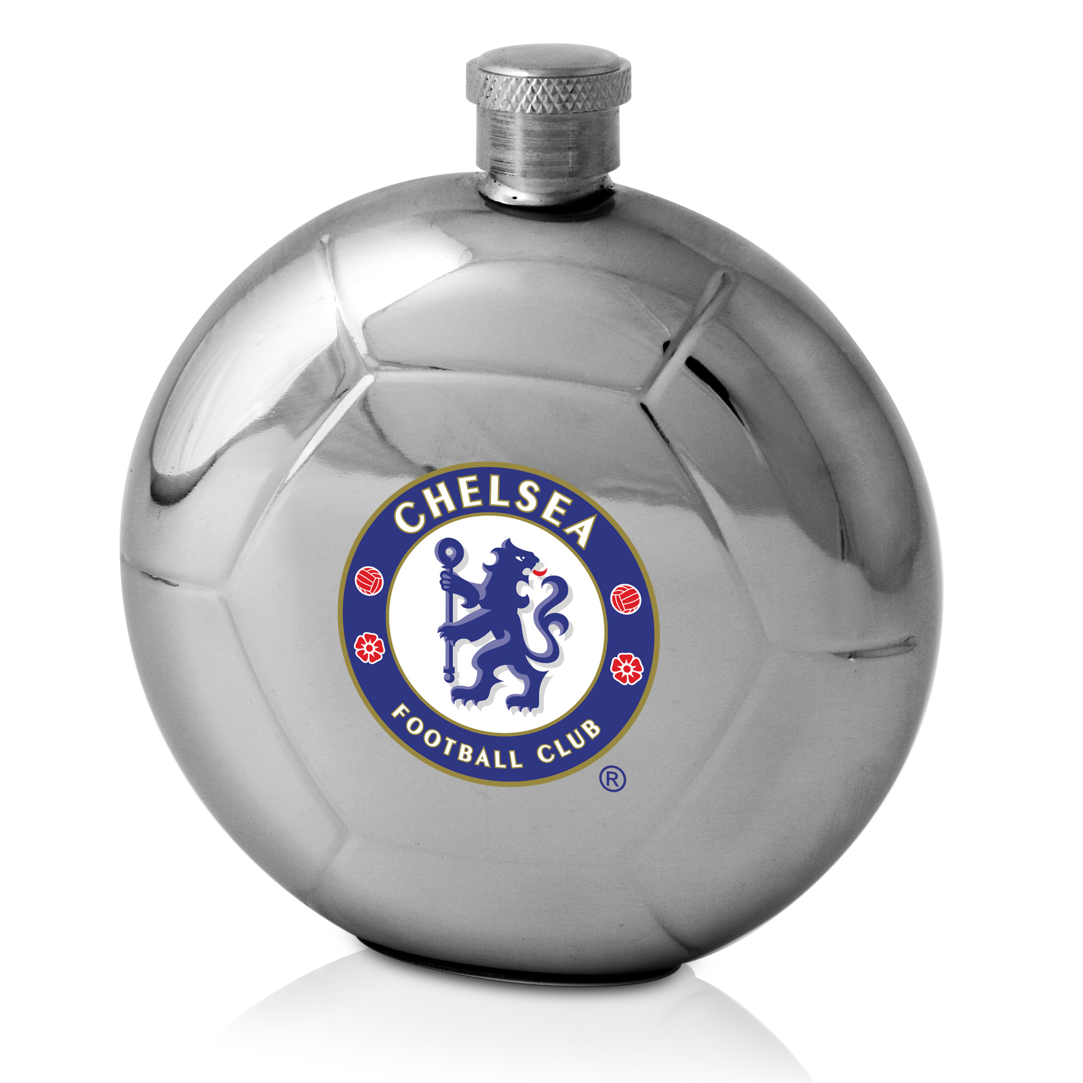 Chelsea Football Shaped Hip Flask