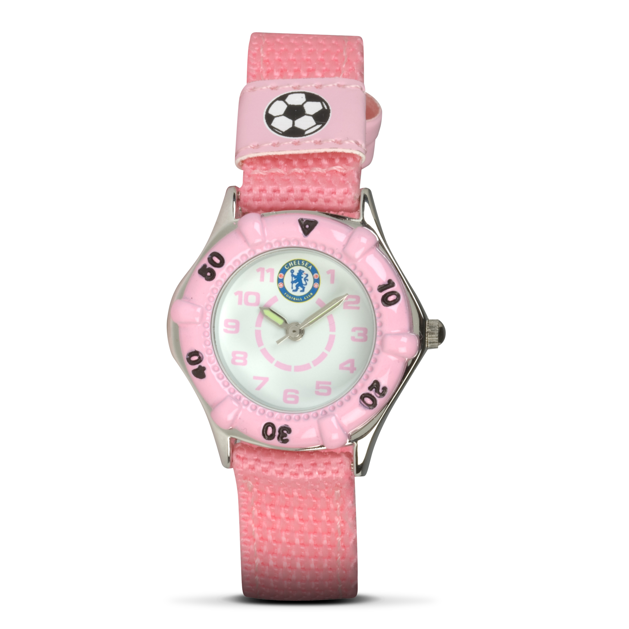 Chelsea Nylon Strap Analogue Watch - Girls