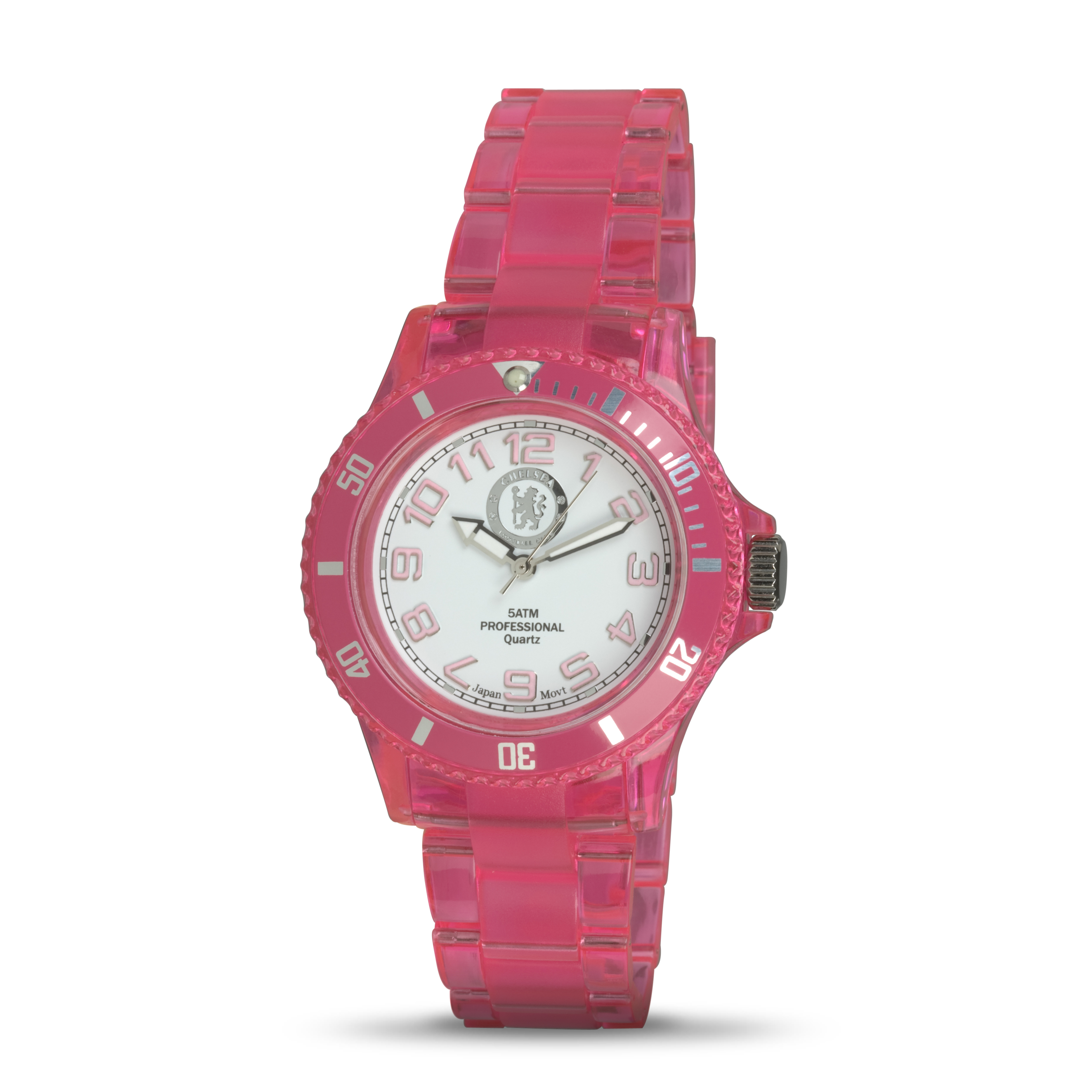 Chelsea Plastic Strap and Case Analogue Watch - Ladies