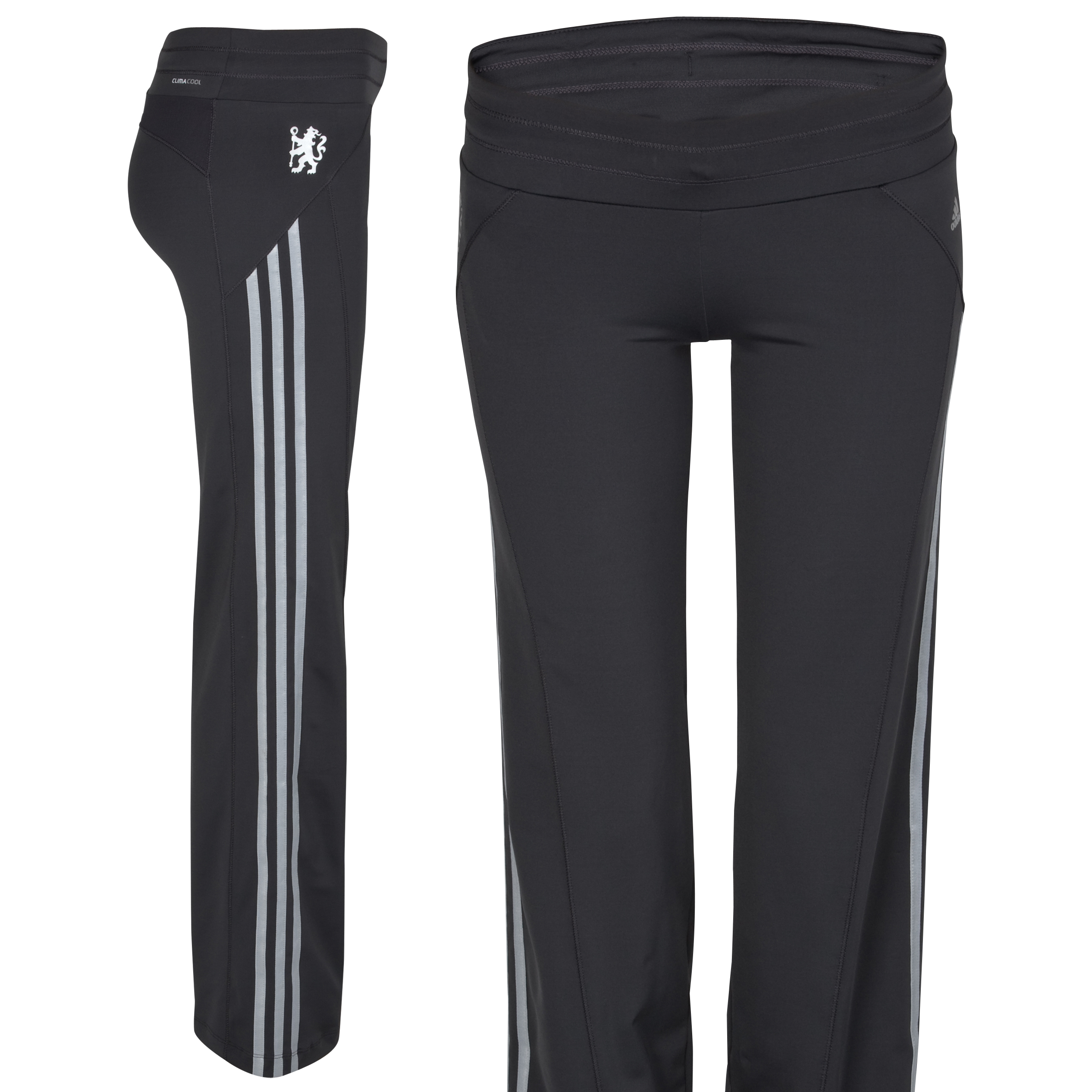 adidas Chelsea Climalite Core Straight Leg Pant - Silver - Womens